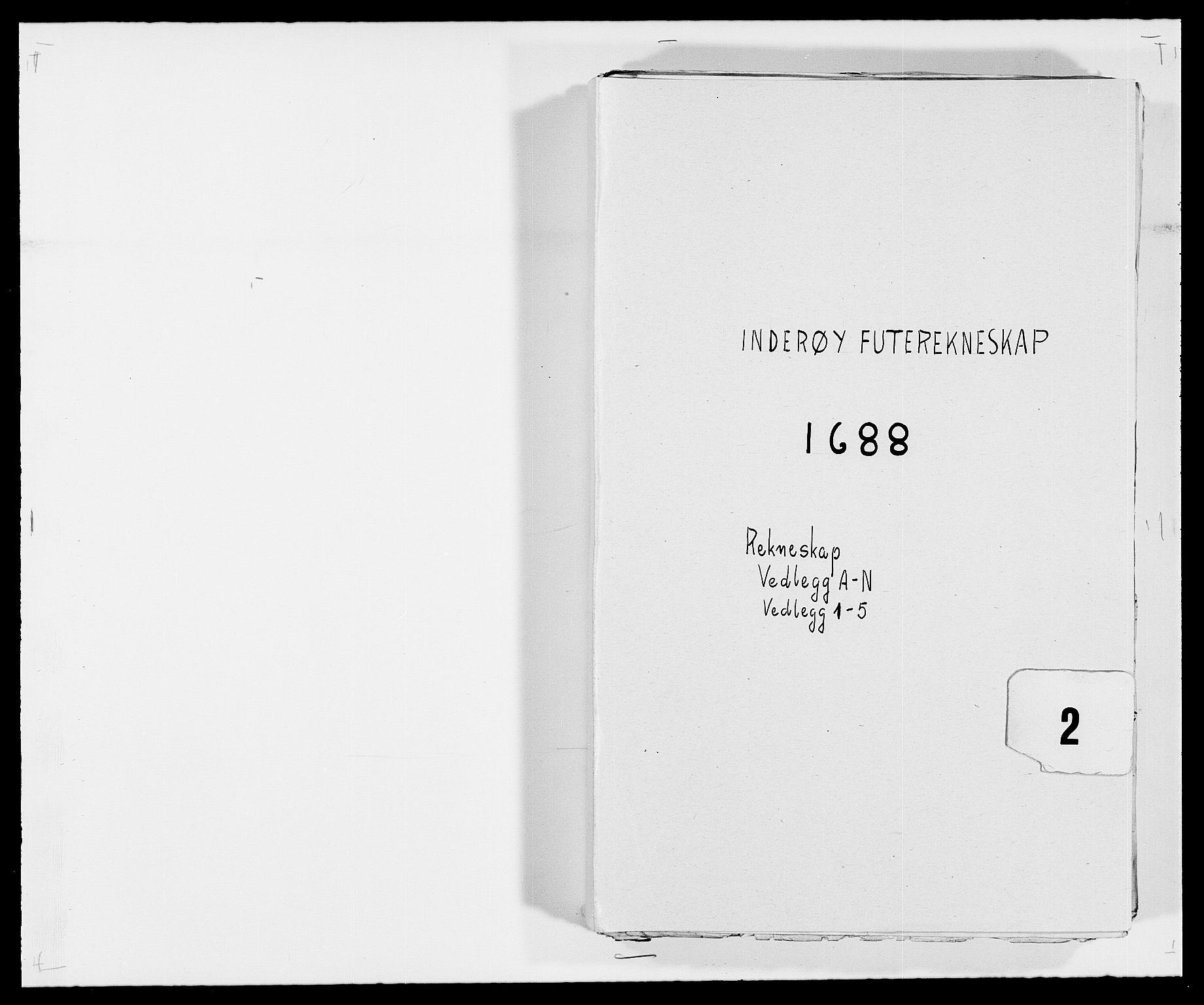 RA, Rentekammeret inntil 1814, Reviderte regnskaper, Fogderegnskap, R63/L4306: Fogderegnskap Inderøy, 1687-1689, s. 231