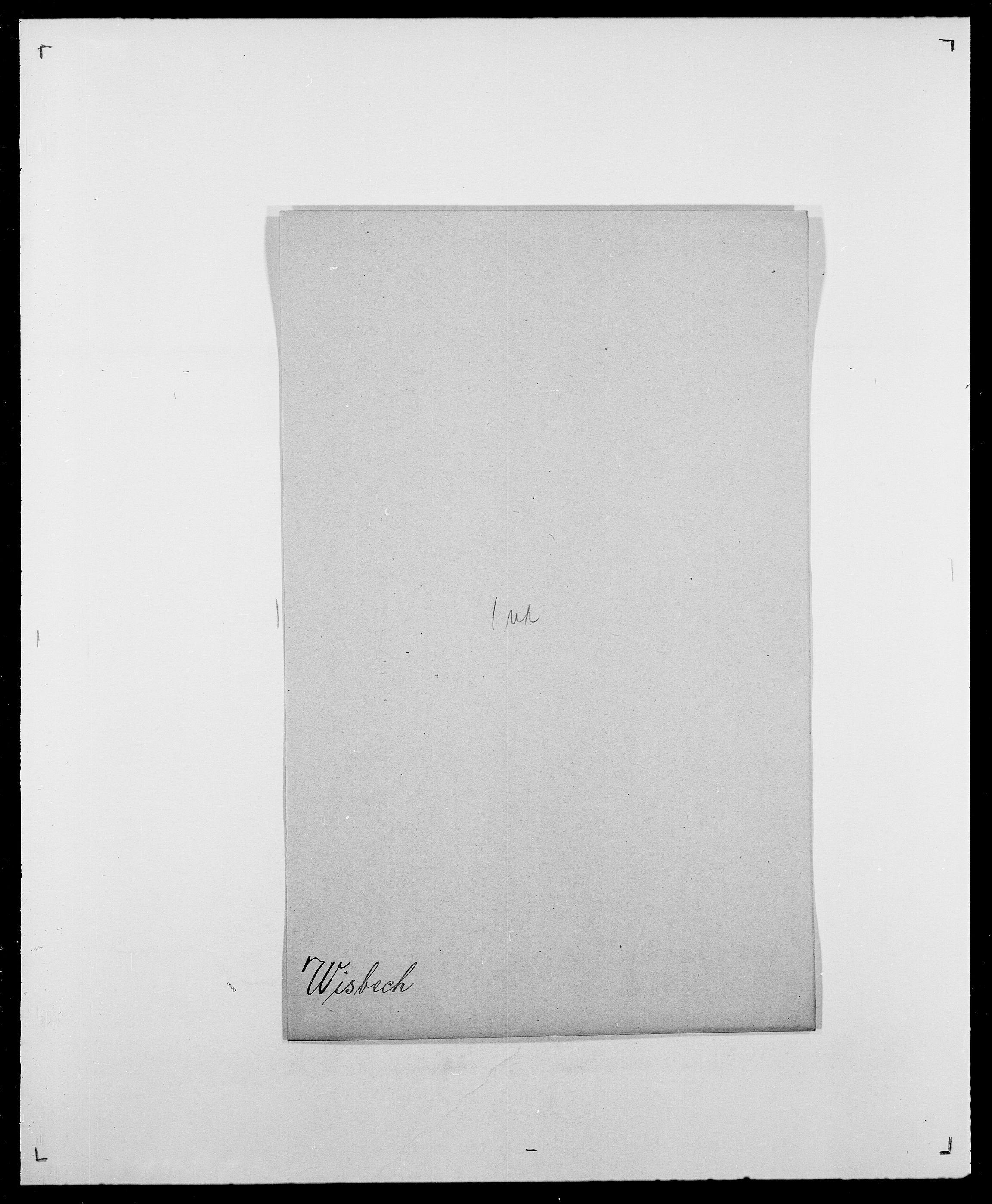 SAO, Delgobe, Charles Antoine - samling, D/Da/L0042: Vilain - Wulf, Wulff, se også Wolf, s. 380