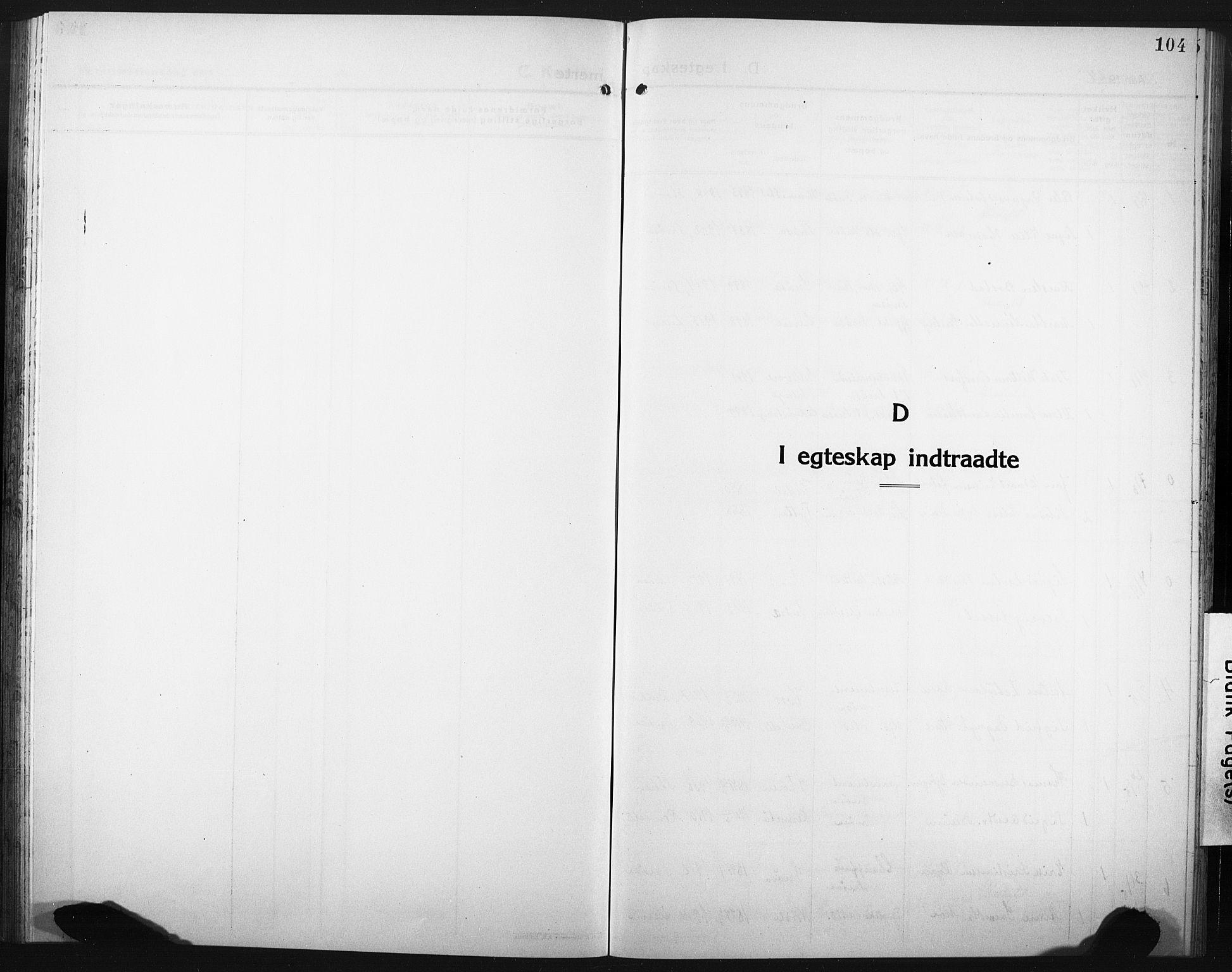 SAT, Ministerialprotokoller, klokkerbøker og fødselsregistre - Nord-Trøndelag, 749/L0480: Klokkerbok nr. 749C02, 1924-1932, s. 104