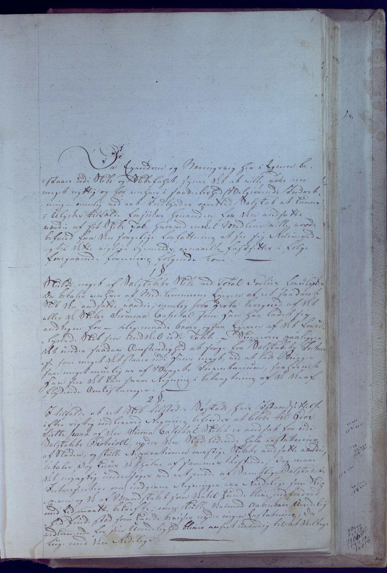AAKS, Oxefjordens indbyrdes Assuranceselskab, A/A01/L0001: Forhandlingsprotokoll med regnskap, 1806-1819, s. 1