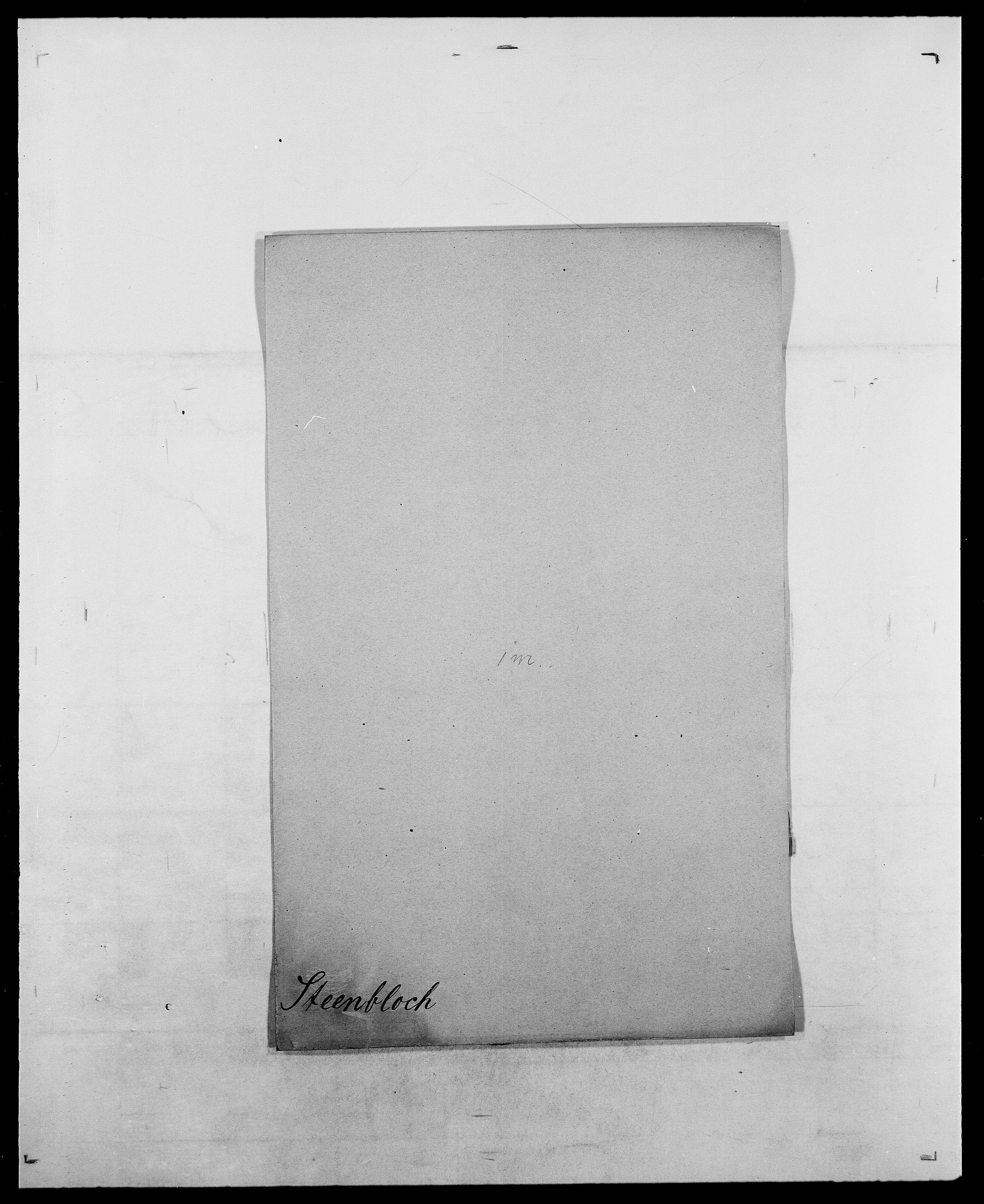 SAO, Delgobe, Charles Antoine - samling, D/Da/L0037: Steen, Sthen, Stein - Svare, Svanige, Svanne, se også Svanning og Schwane, s. 133