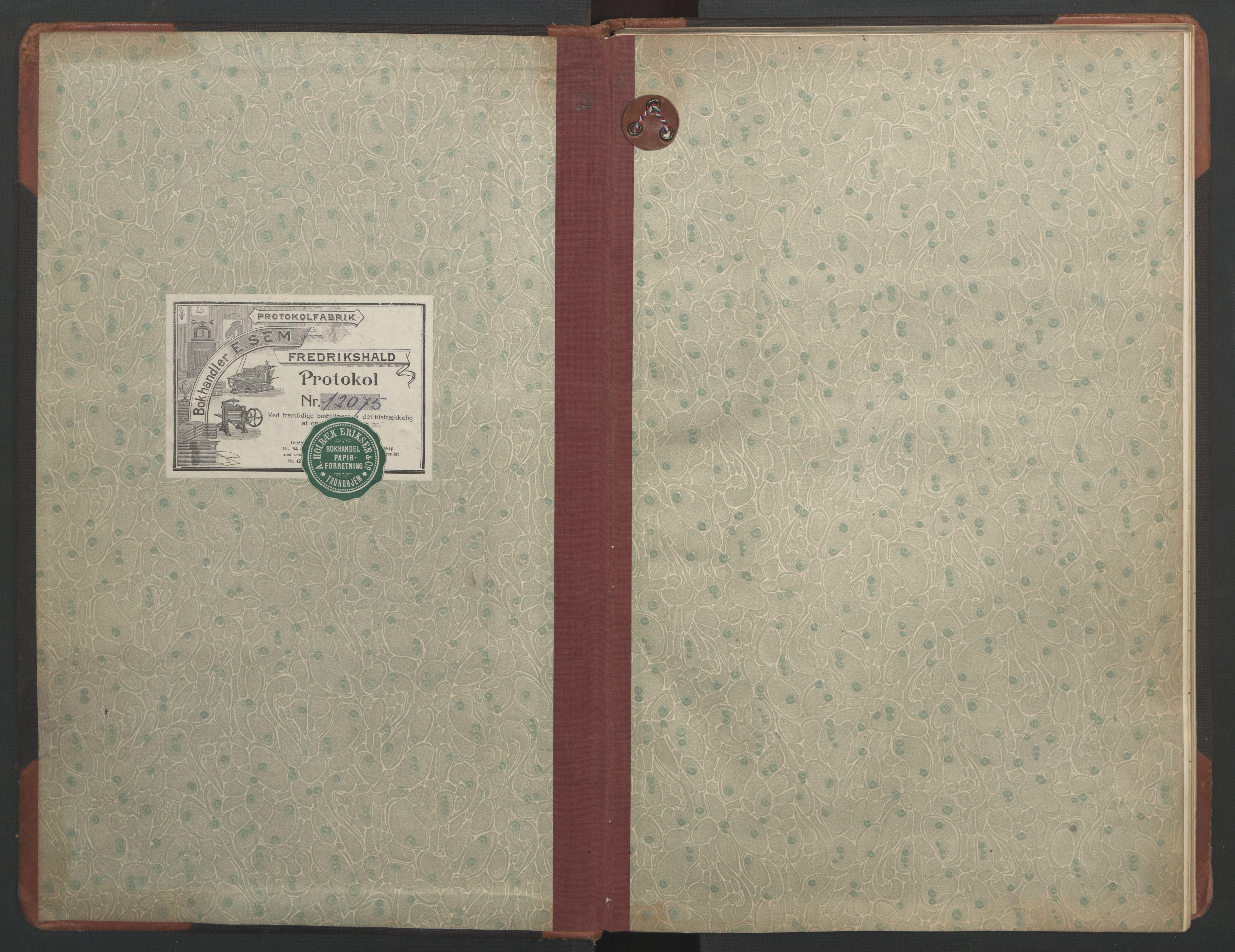 SAT, Ministerialprotokoller, klokkerbøker og fødselsregistre - Sør-Trøndelag, 687/L1013: Dagregister nr. 687B02, 1914-1936