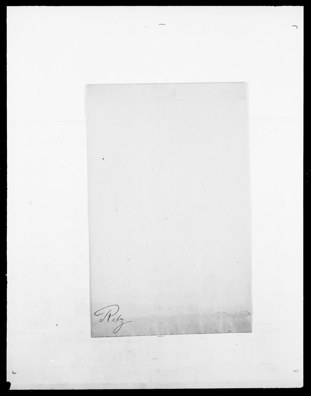 SAO, Delgobe, Charles Antoine - samling, D/Da/L0032: Rabakovsky - Rivertz, s. 824