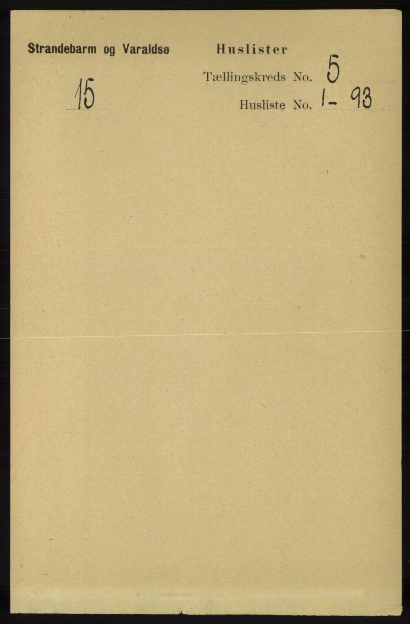 RA, Folketelling 1891 for 1226 Strandebarm og Varaldsøy herred, 1891, s. 1791