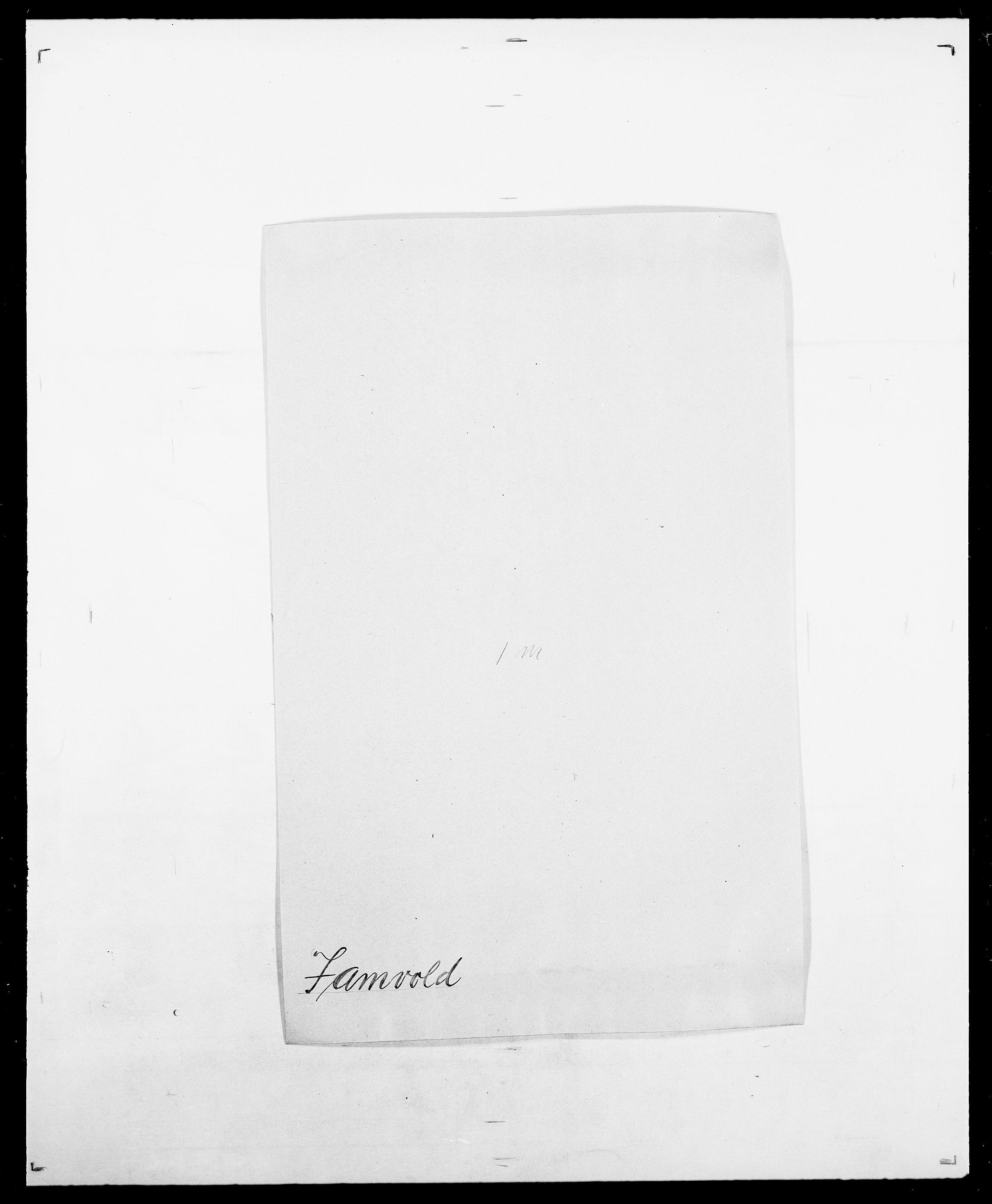 SAO, Delgobe, Charles Antoine - samling, D/Da/L0019: van der Hude - Joys, s. 537