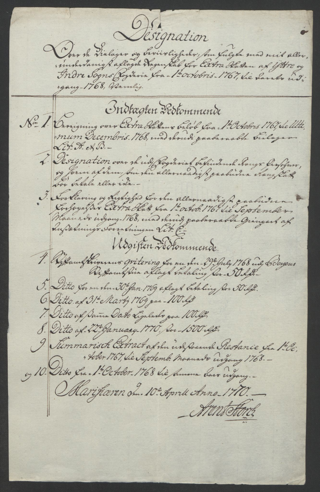 RA, Rentekammeret inntil 1814, Realistisk ordnet avdeling, Ol/L0018: [Gg 10]: Ekstraskatten, 23.09.1762. Sogn, 1762-1772, s. 169