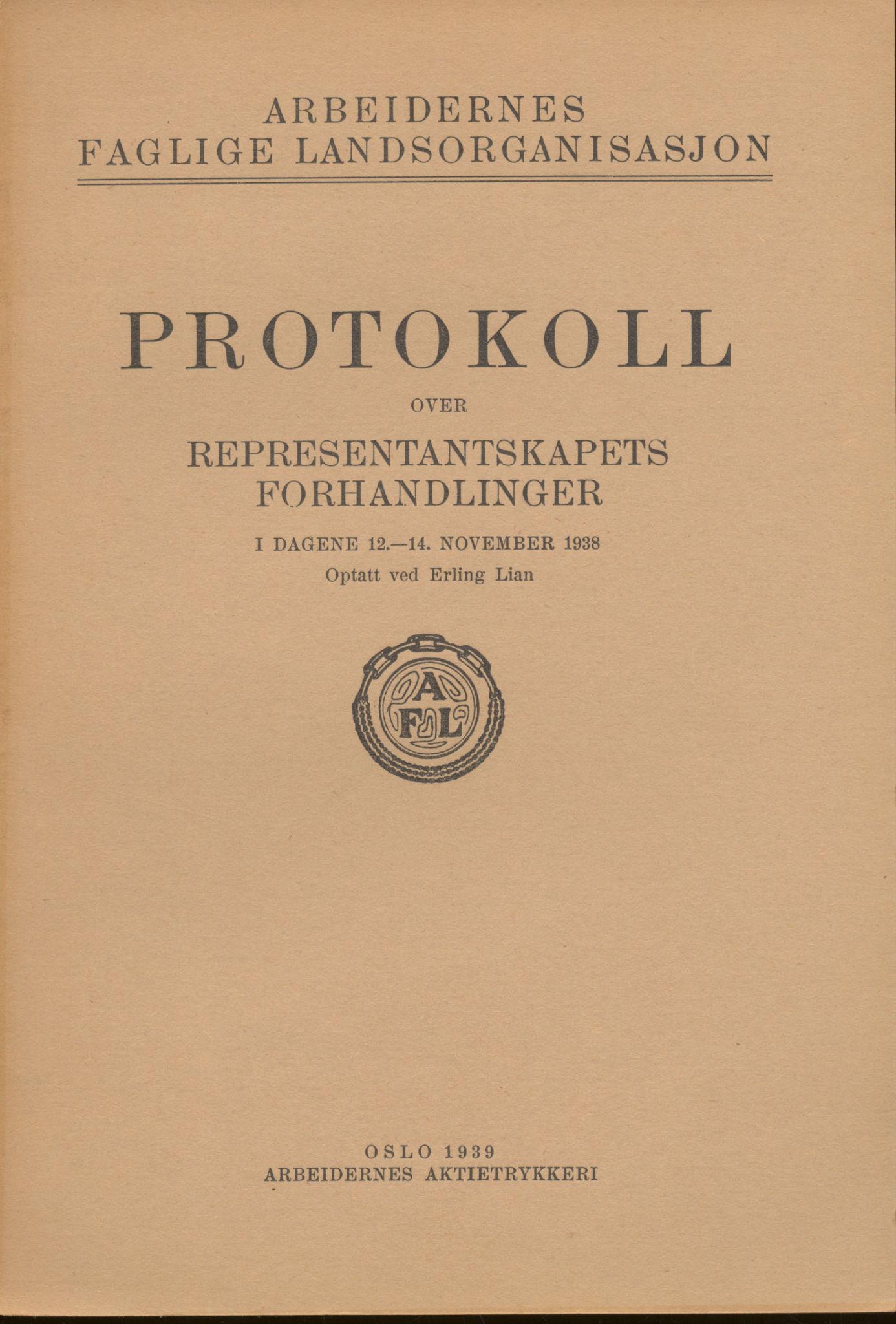 AAB, Landsorganisasjonen i Norge, 1911-1953, s. 258