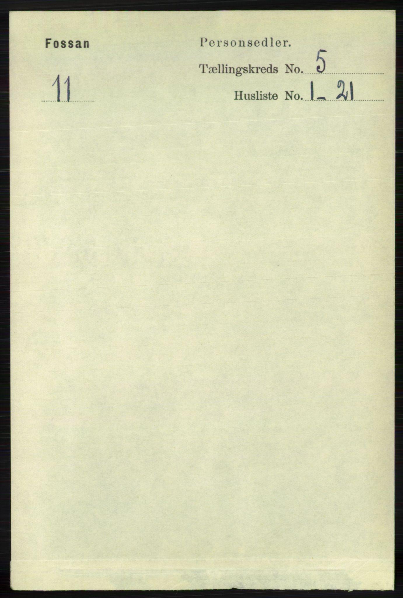 RA, Folketelling 1891 for 1129 Forsand herred, 1891, s. 756