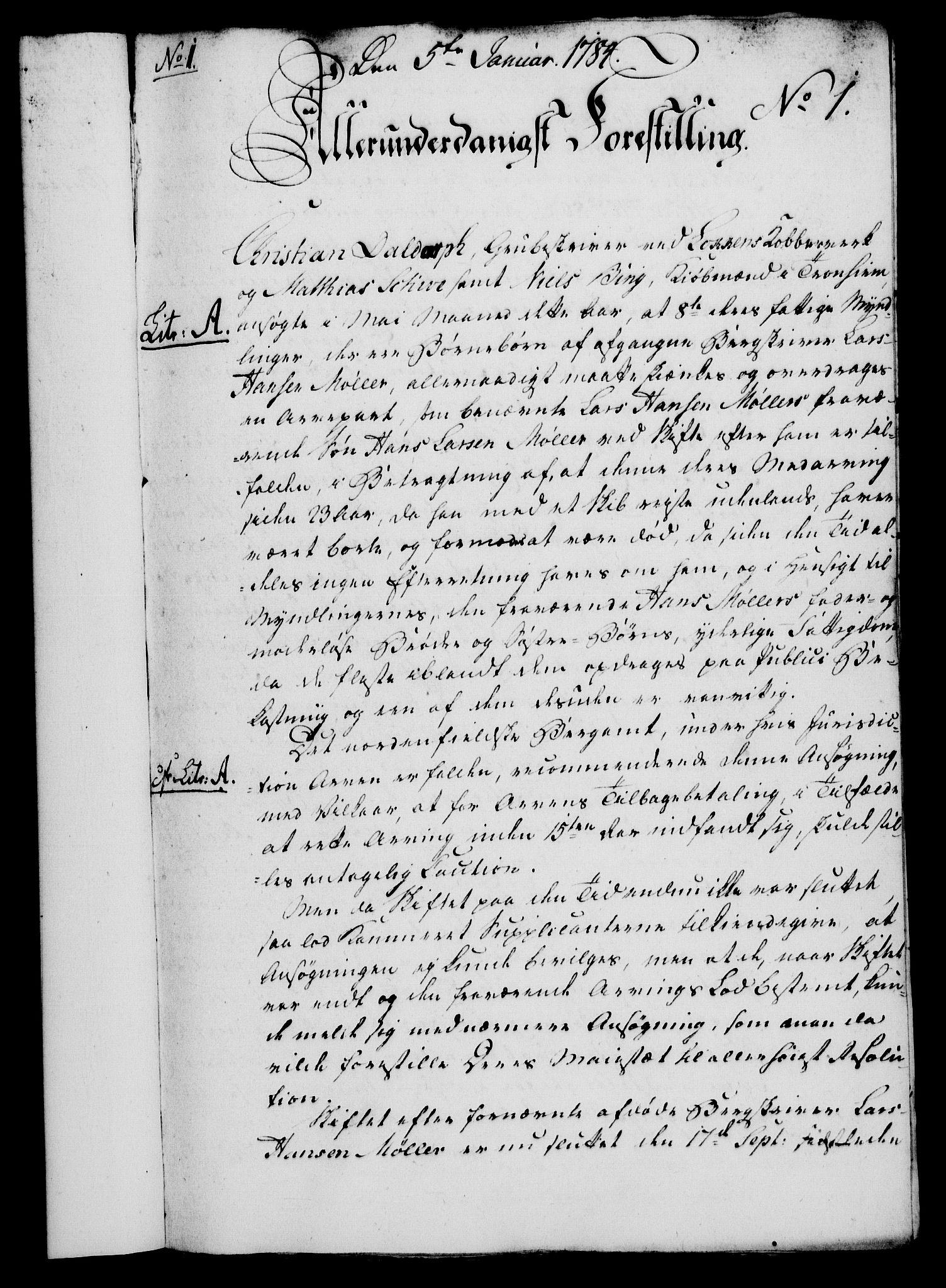 RA, Rentekammeret, Kammerkanselliet, G/Gf/Gfa/L0066: Norsk relasjons- og resolusjonsprotokoll (merket RK 52.66), 1784, s. 27