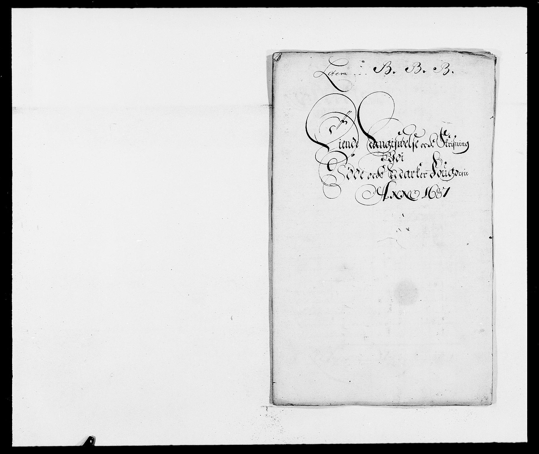 RA, Rentekammeret inntil 1814, Reviderte regnskaper, Fogderegnskap, R01/L0007: Fogderegnskap Idd og Marker, 1687-1688, s. 74