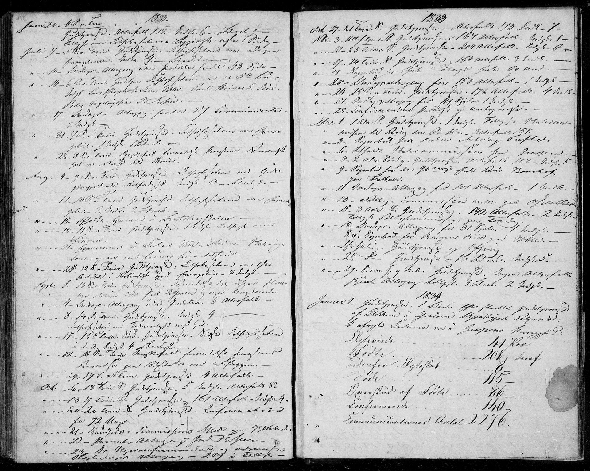 SAKO, Gjerpen kirkebøker, F/Fa/L0006: Ministerialbok nr. 6, 1829-1834, s. 317