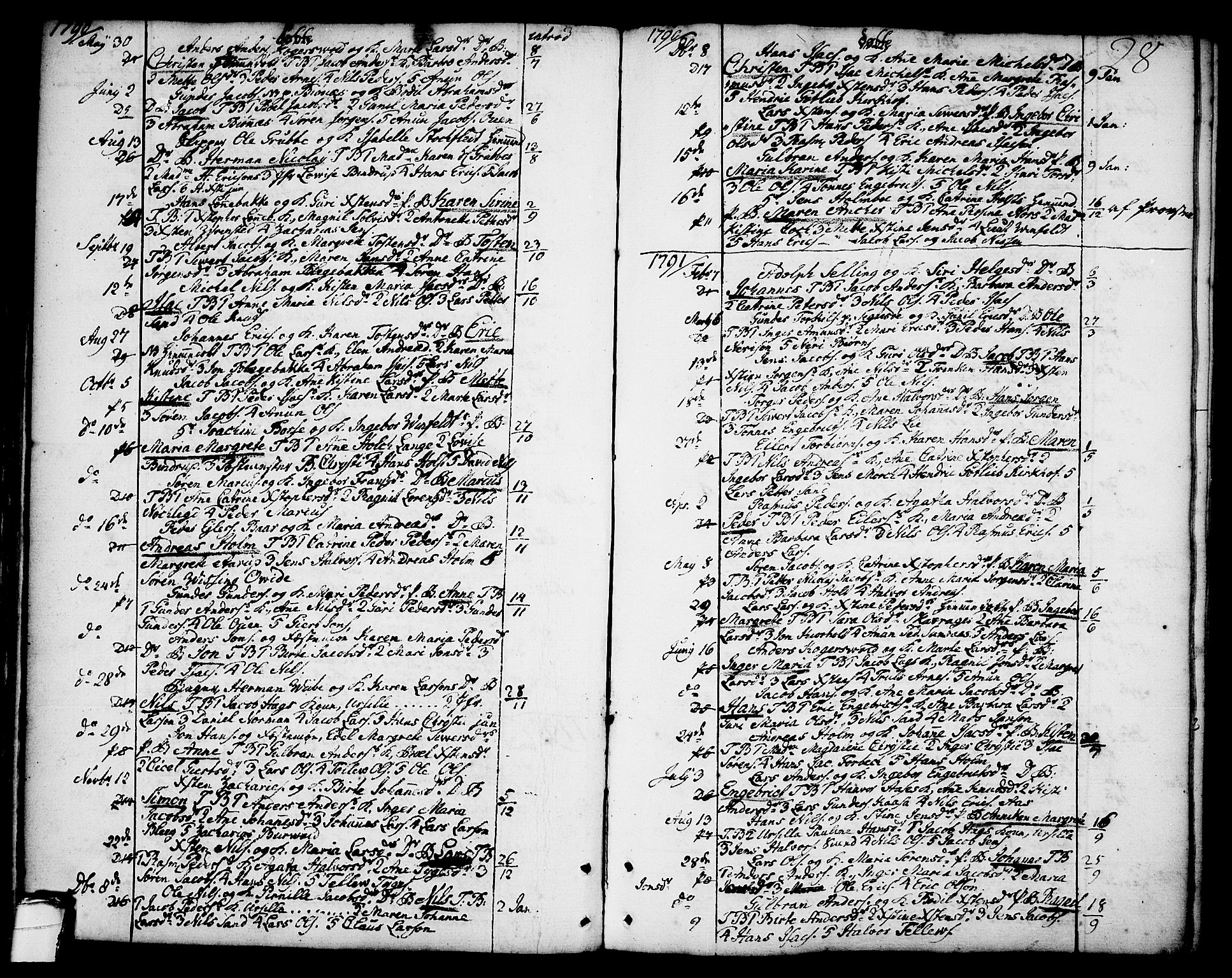 SAKO, Brevik kirkebøker, F/Fa/L0003: Ministerialbok nr. 3, 1764-1814, s. 28