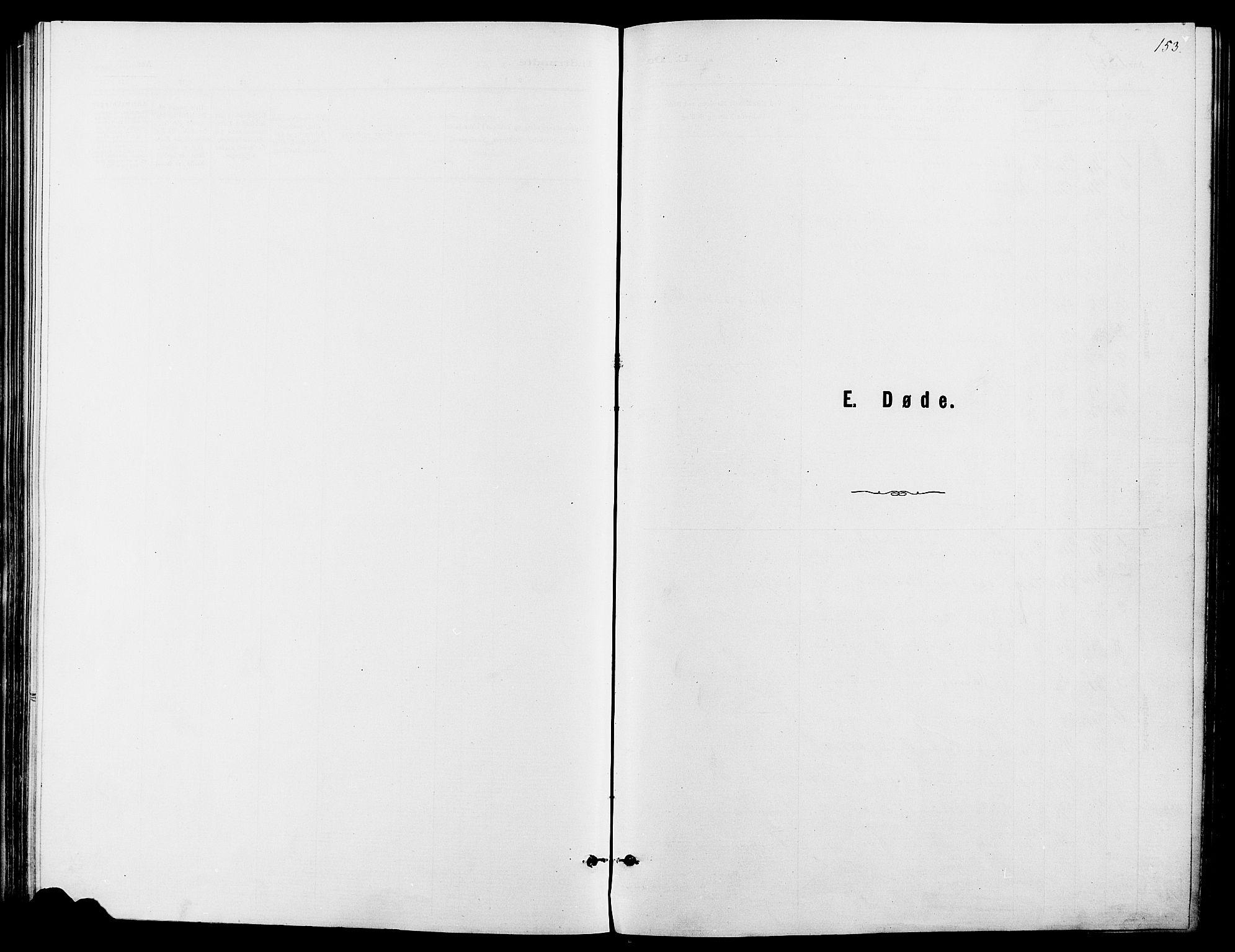 SAH, Dovre prestekontor, Ministerialbok nr. 2, 1879-1890, s. 153