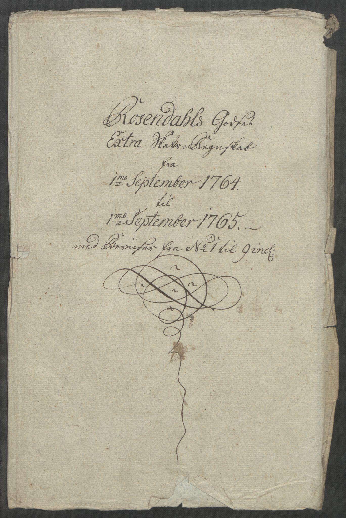 RA, Rentekammeret inntil 1814, Reviderte regnskaper, Fogderegnskap, R49/L3157: Ekstraskatten Rosendal Baroni, 1762-1772, s. 113