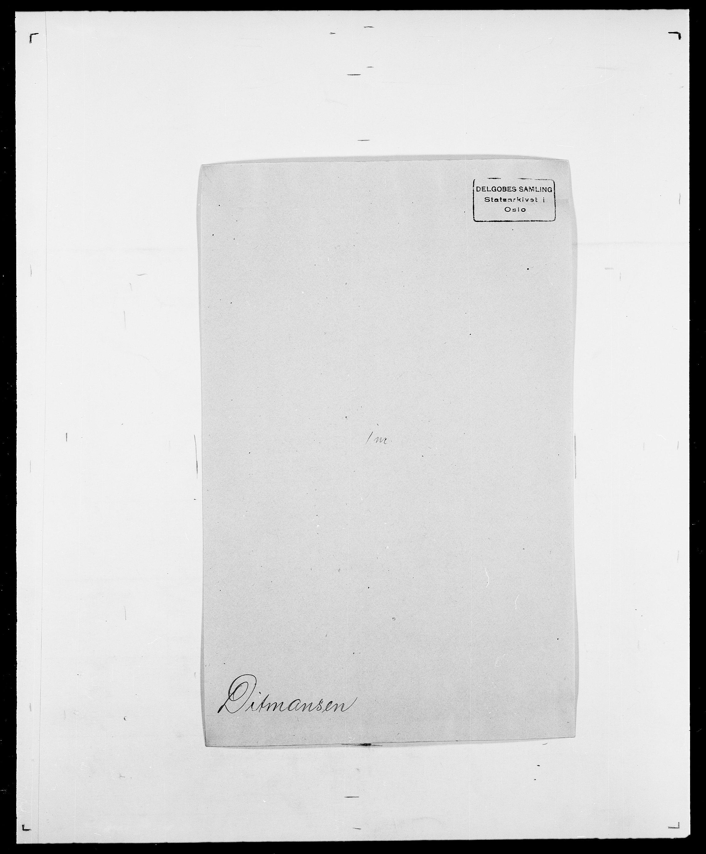 SAO, Delgobe, Charles Antoine - samling, D/Da/L0009: Dahl - v. Düren, s. 603