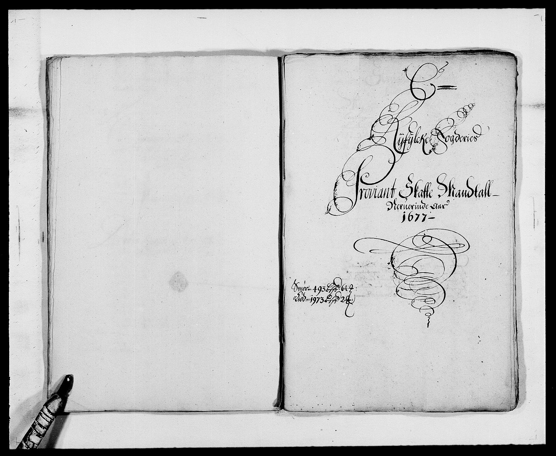 RA, Rentekammeret inntil 1814, Reviderte regnskaper, Fogderegnskap, R47/L2847: Fogderegnskap Ryfylke, 1677, s. 82