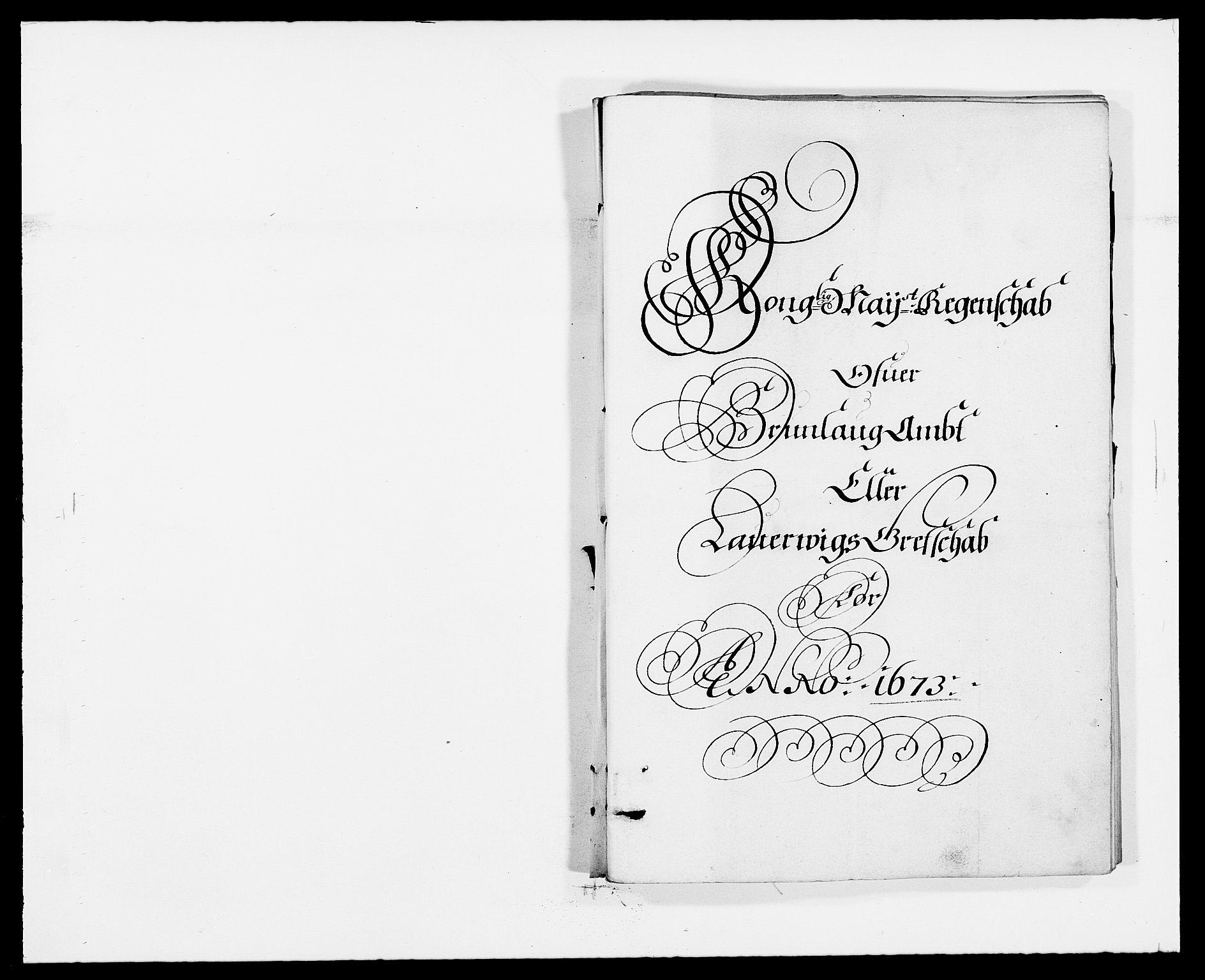 RA, Rentekammeret inntil 1814, Reviderte regnskaper, Fogderegnskap, R33/L1966: Fogderegnskap Larvik grevskap, 1672-1674, s. 84