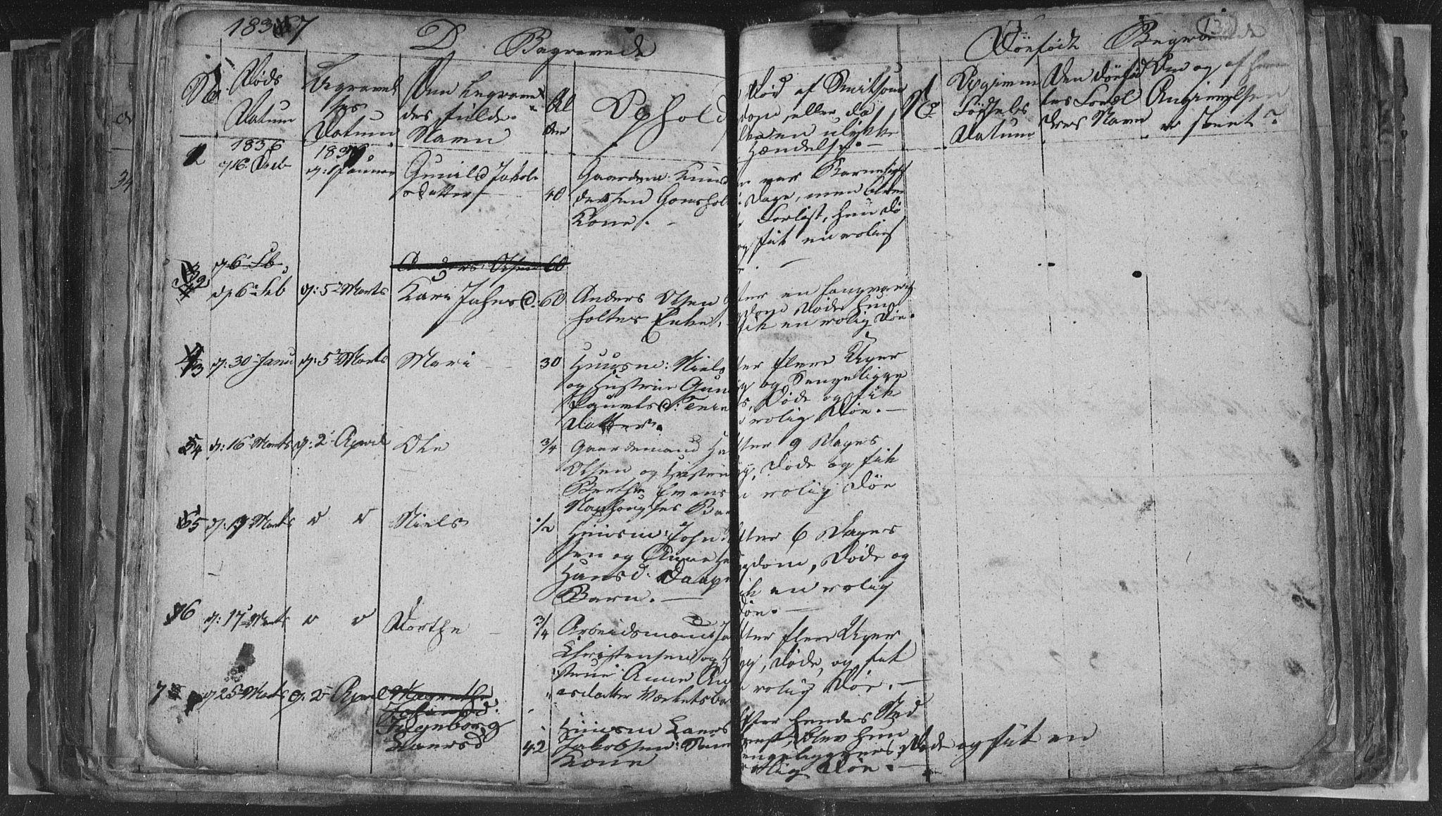SAKO, Siljan kirkebøker, G/Ga/L0001: Klokkerbok nr. 1, 1827-1847, s. 132