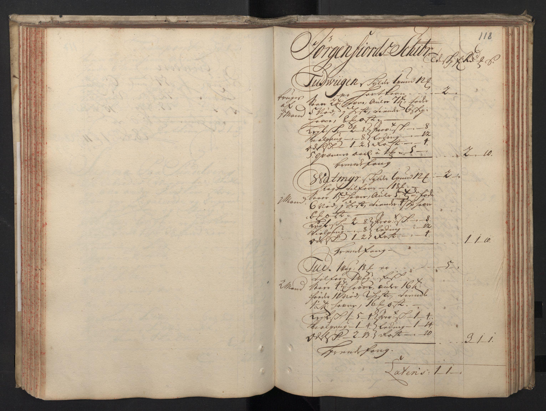RA, Rentekammeret inntil 1814, Realistisk ordnet avdeling, N/Nb/Nbf/L0148: Sunnmøre, prøvematrikkel, 1714, s. 117b-118a