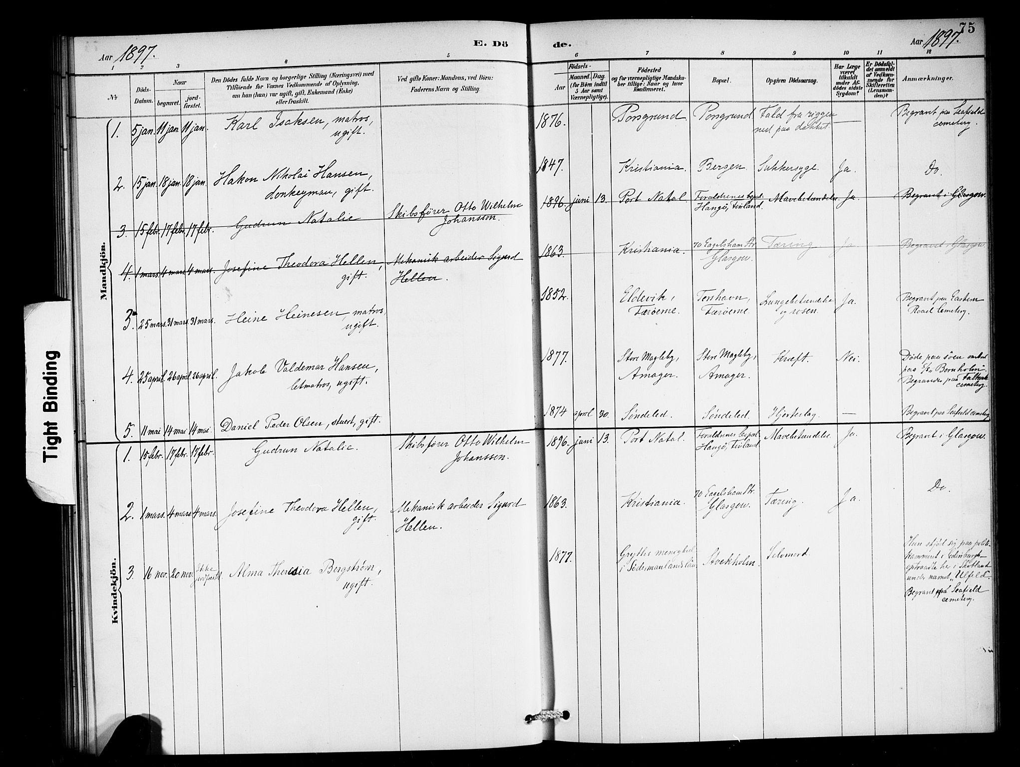 SAB, Den Norske Sjømannsmisjon i utlandet*, Ministerialbok nr. A 2, 1887-1898, s. 75