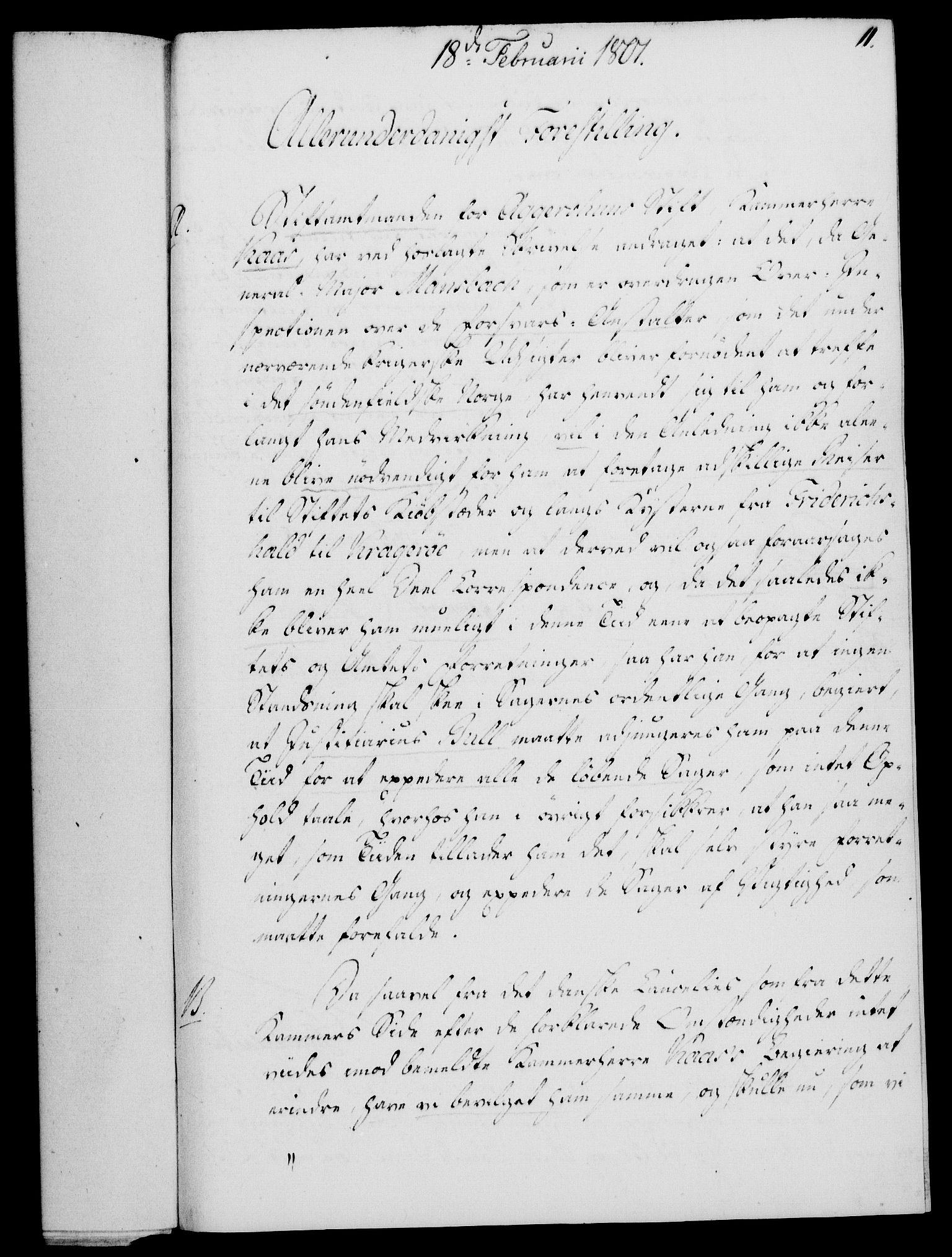 RA, Rentekammeret, Kammerkanselliet, G/Gf/Gfa/L0083: Norsk relasjons- og resolusjonsprotokoll (merket RK 52.83), 1801, s. 89