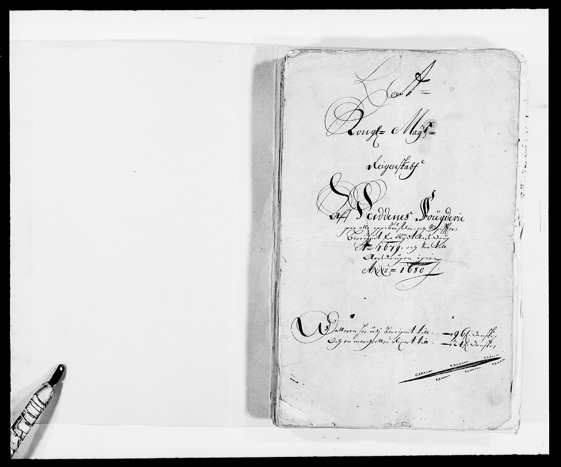 RA, Rentekammeret inntil 1814, Reviderte regnskaper, Fogderegnskap, R39/L2303: Fogderegnskap Nedenes, 1679, s. 2
