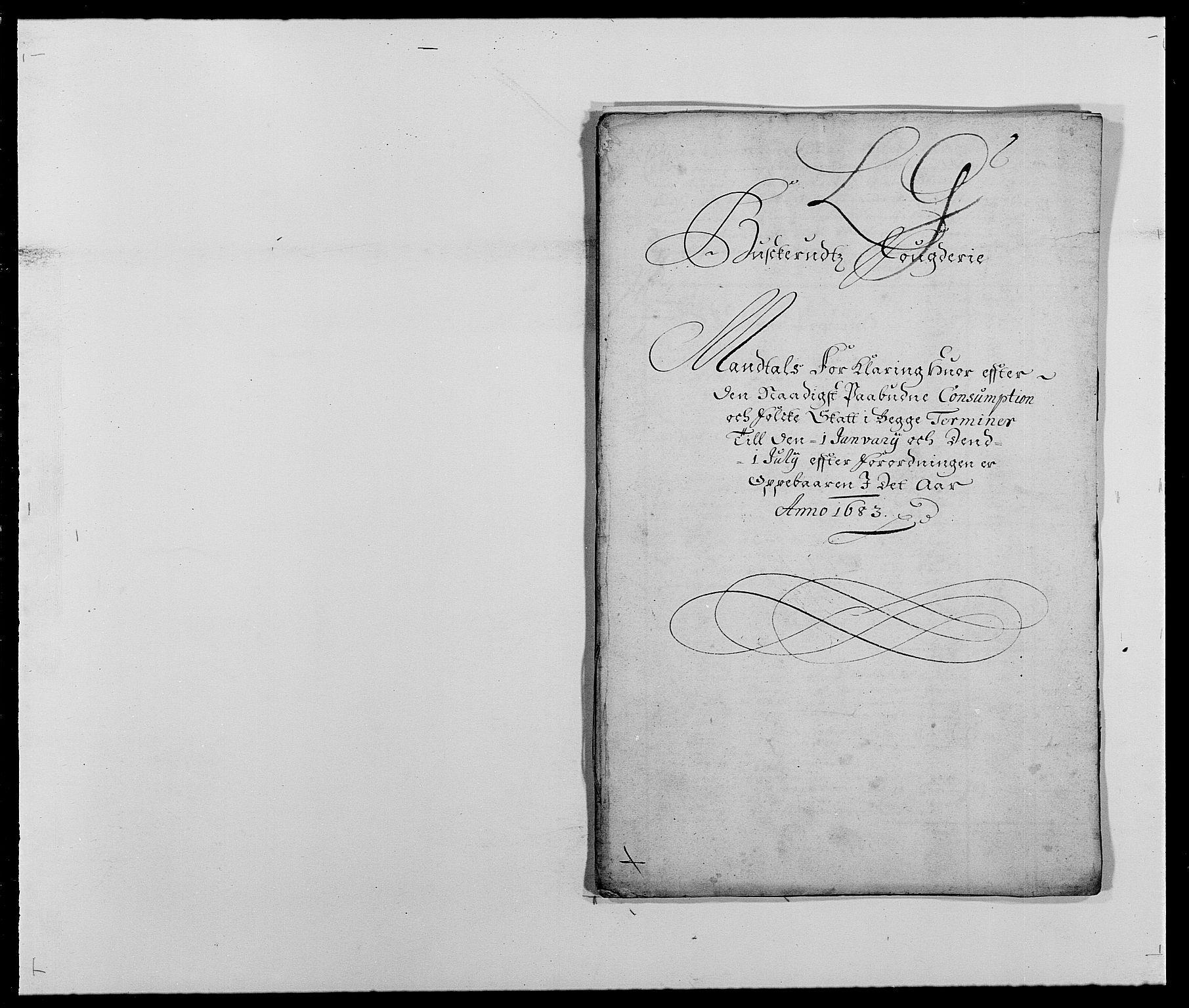 RA, Rentekammeret inntil 1814, Reviderte regnskaper, Fogderegnskap, R25/L1677: Fogderegnskap Buskerud, 1683-1684, s. 136