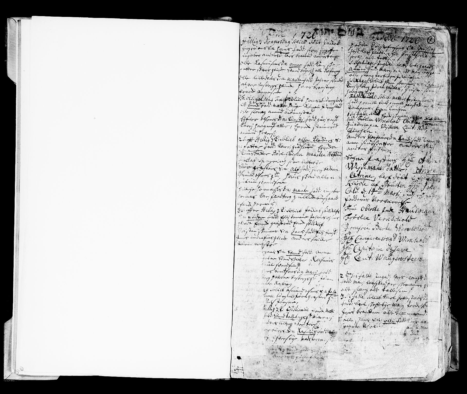 SAO, Skjeberg prestekontor Kirkebøker, F/Fa/L0002: Ministerialbok nr. I 2, 1726-1791, s. 1