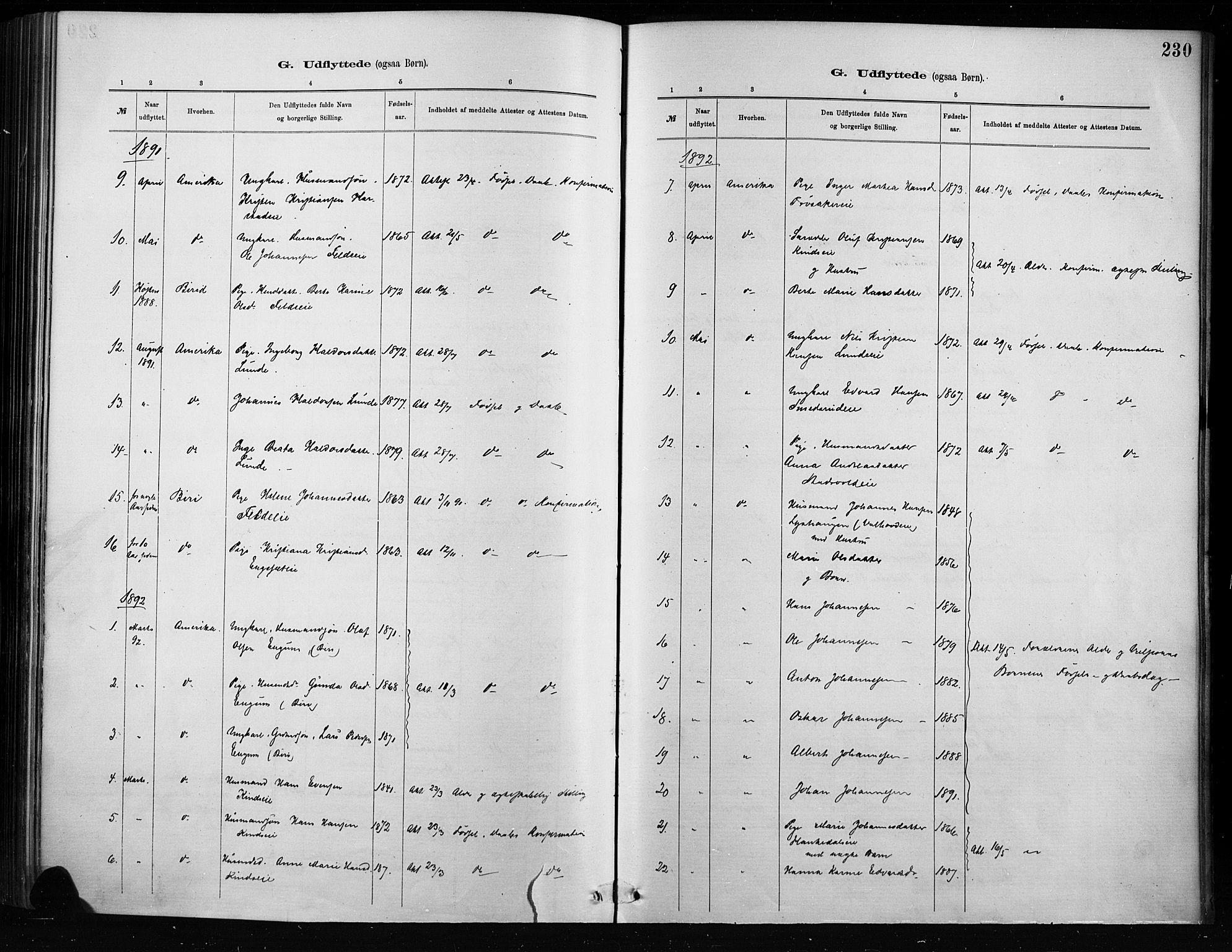 SAH, Nordre Land prestekontor, Ministerialbok nr. 4, 1882-1896, s. 230