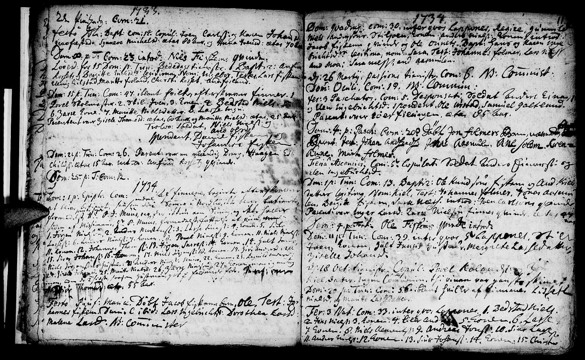 SAT, Ministerialprotokoller, klokkerbøker og fødselsregistre - Nord-Trøndelag, 759/L0525: Ministerialbok nr. 759A01, 1706-1748, s. 11
