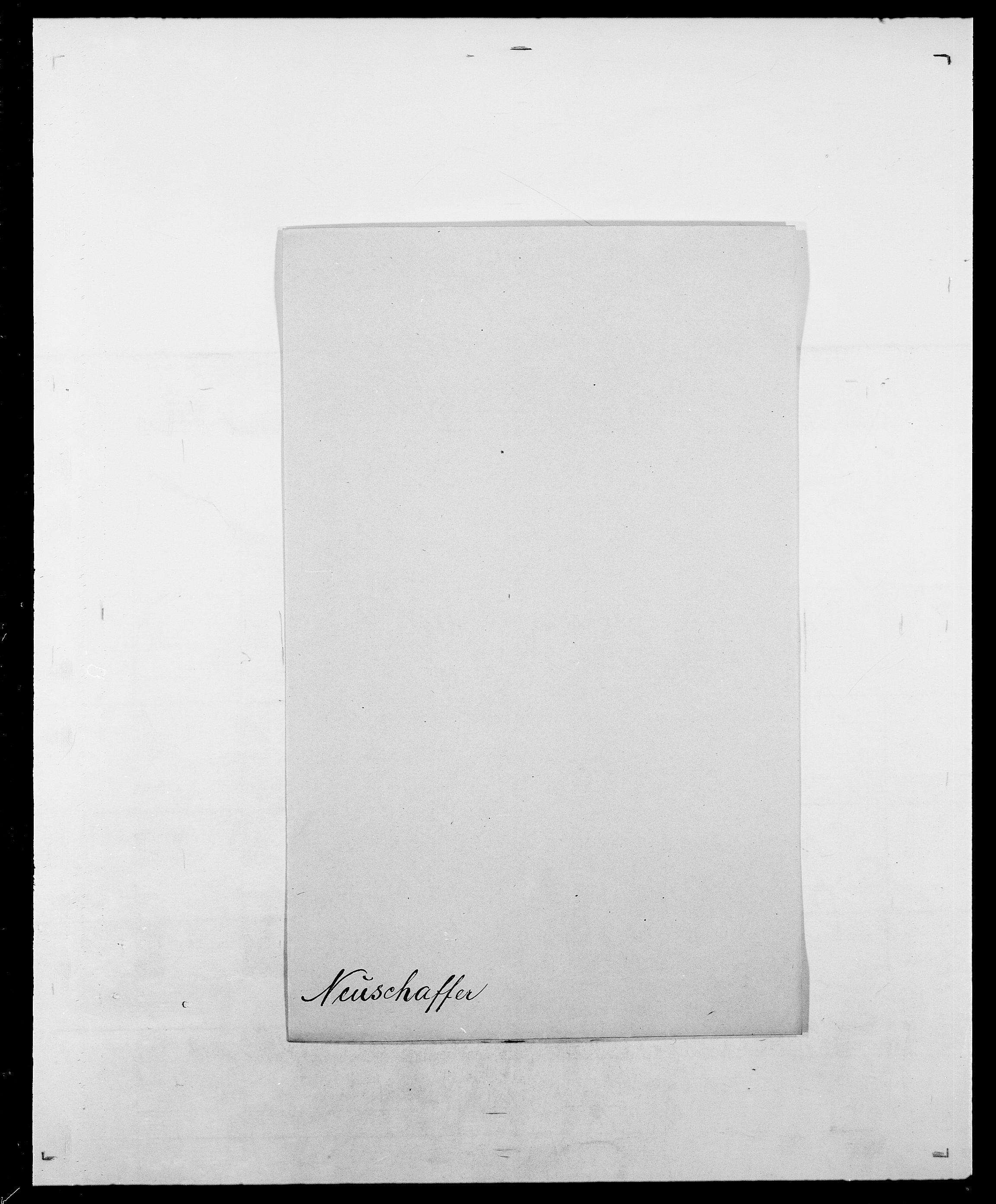 SAO, Delgobe, Charles Antoine - samling, D/Da/L0028: Naaden - Nøvik, s. 149
