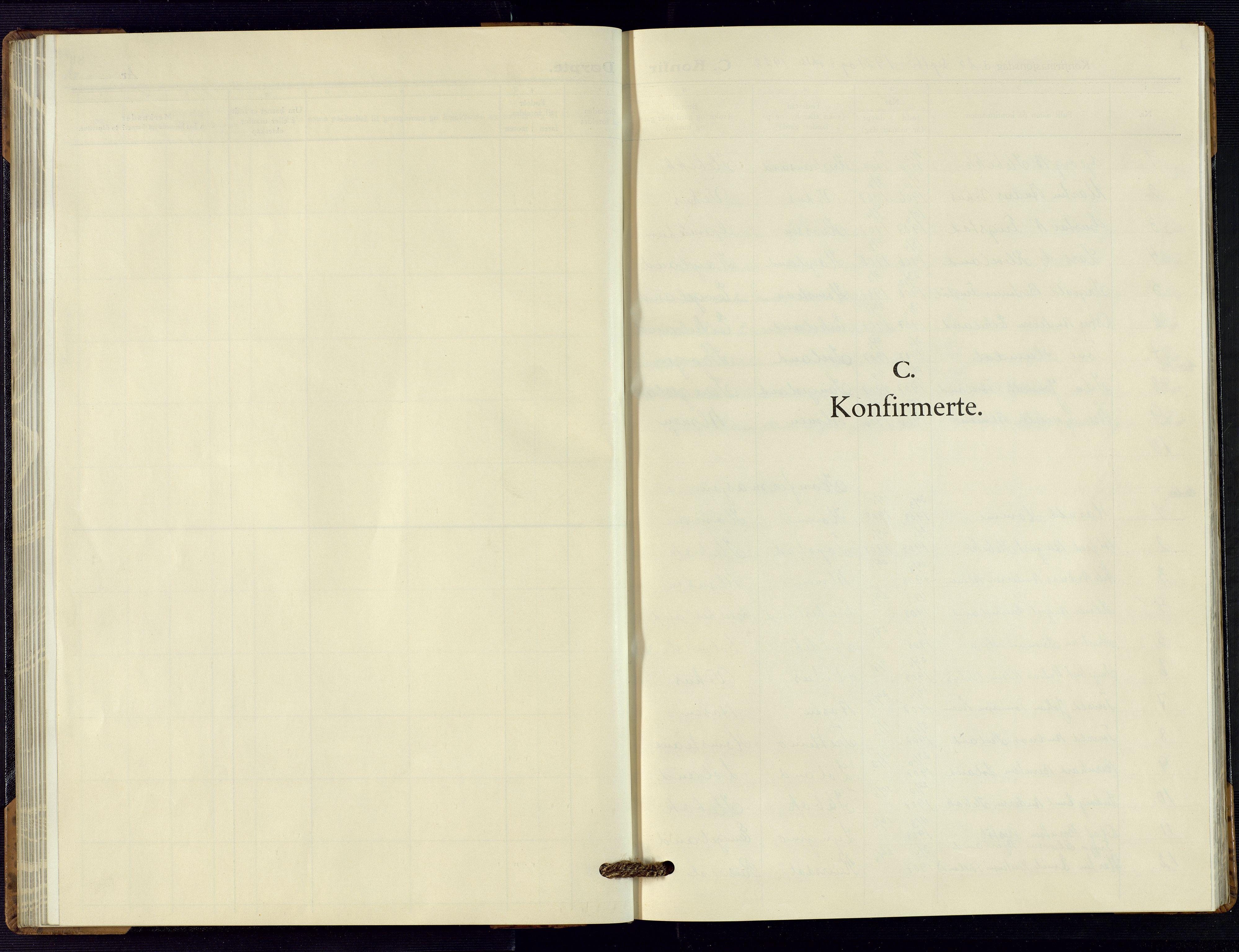 SAK, Vennesla sokneprestkontor, Fb/Fbc/L0004: Klokkerbok nr. B 4, 1921-1972