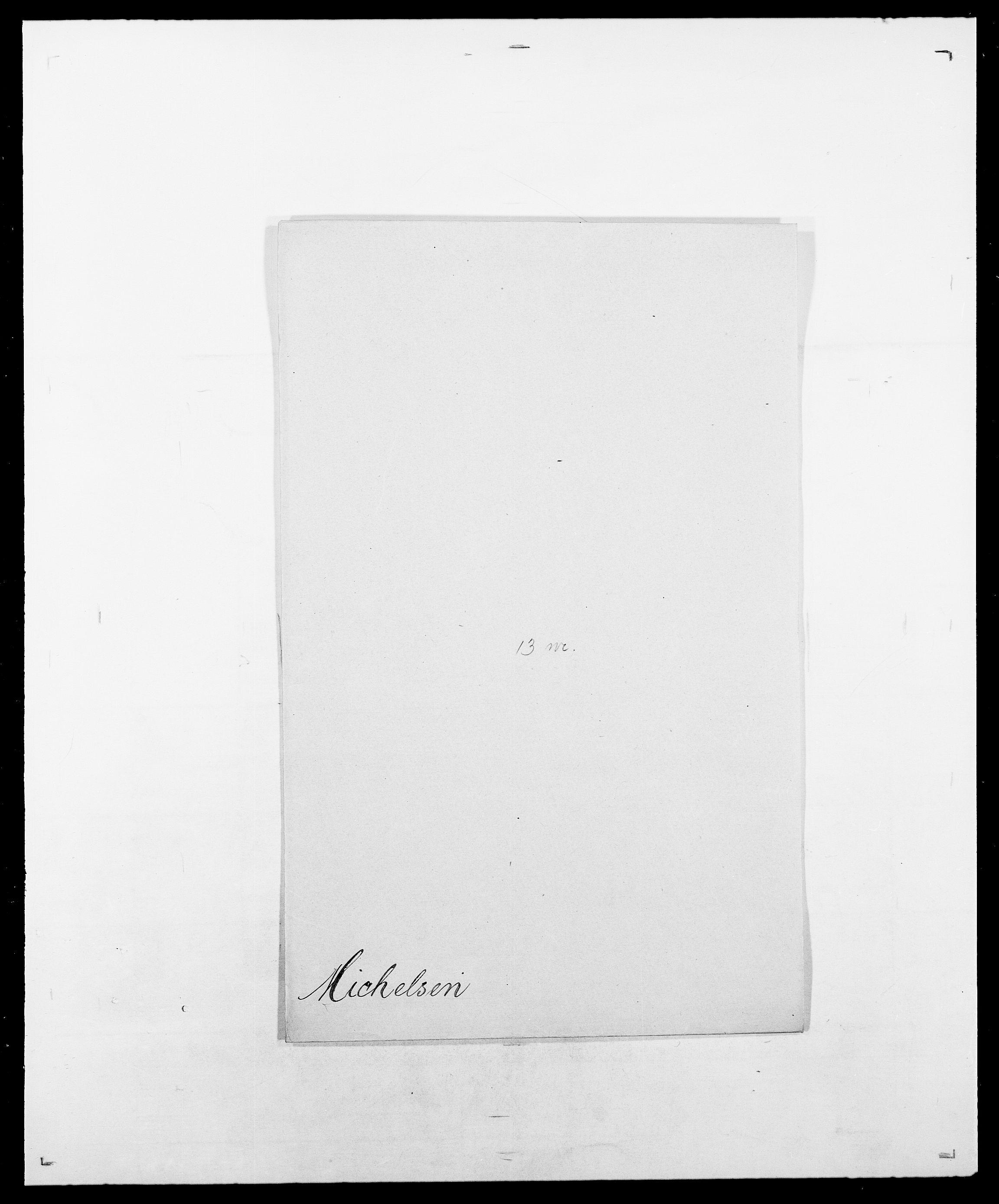 SAO, Delgobe, Charles Antoine - samling, D/Da/L0026: Mechelby - Montoppidan, s. 523