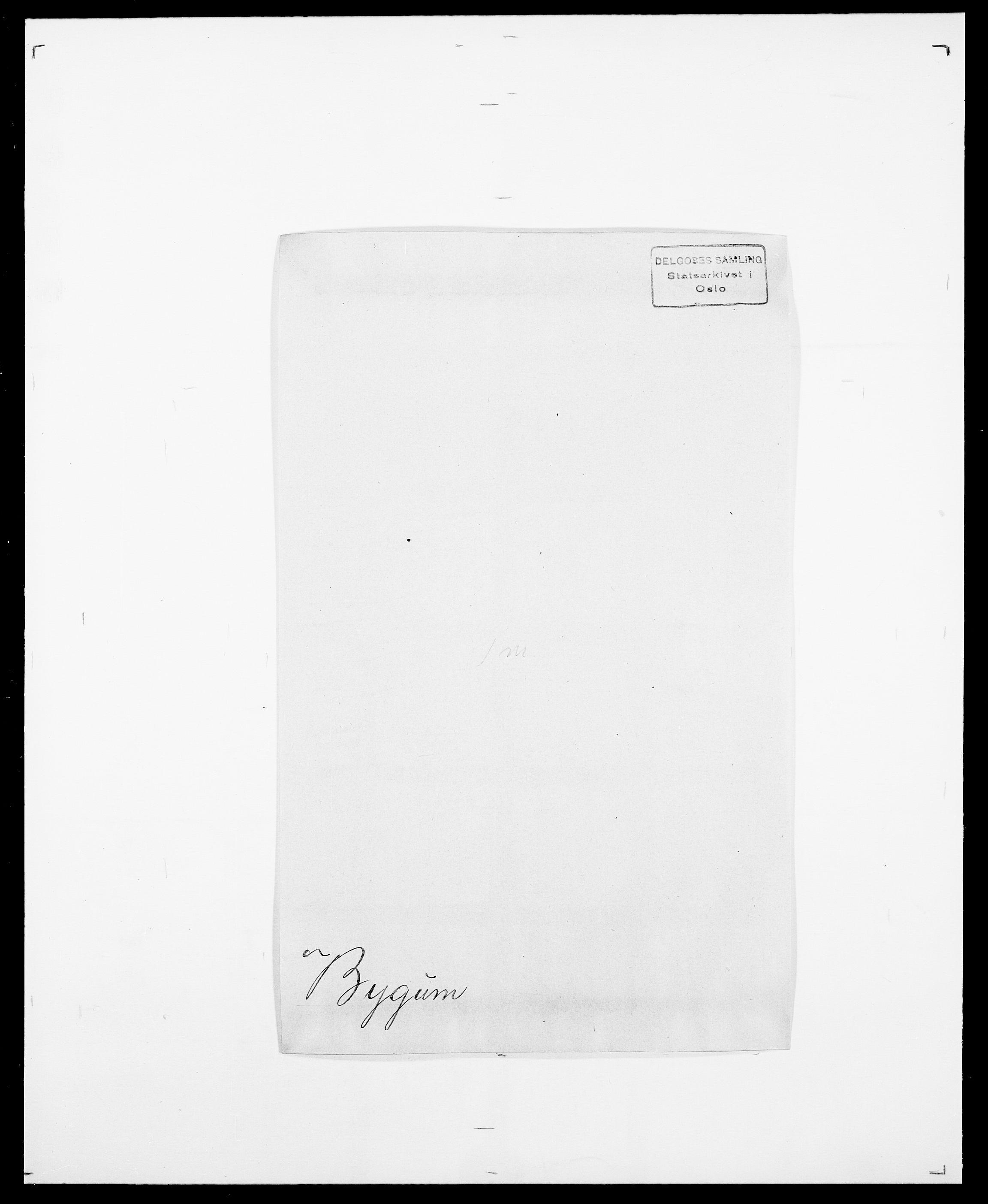 SAO, Delgobe, Charles Antoine - samling, D/Da/L0007: Buaas - Caphengst, s. 511
