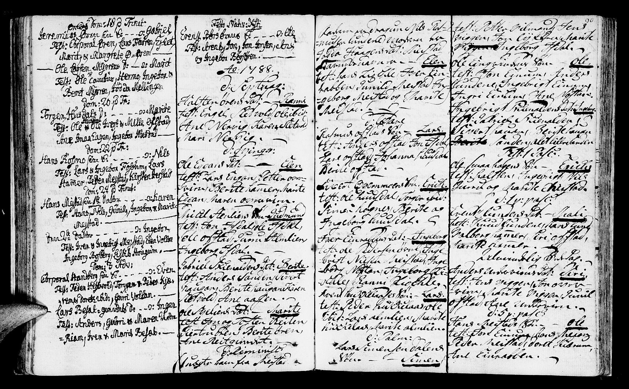 SAT, Ministerialprotokoller, klokkerbøker og fødselsregistre - Sør-Trøndelag, 665/L0768: Ministerialbok nr. 665A03, 1754-1803, s. 90