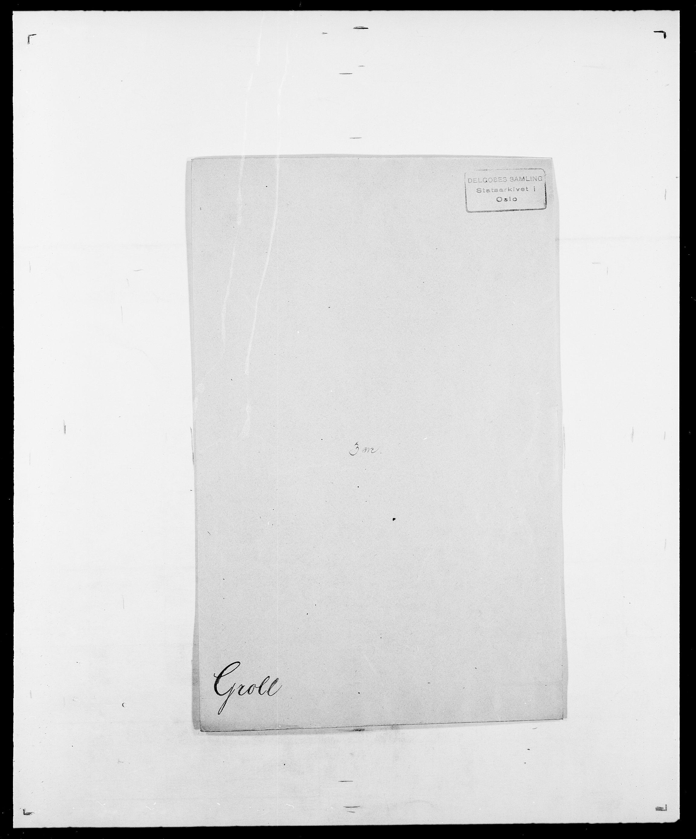 SAO, Delgobe, Charles Antoine - samling, D/Da/L0015: Grodtshilling - Halvorsæth, s. 5