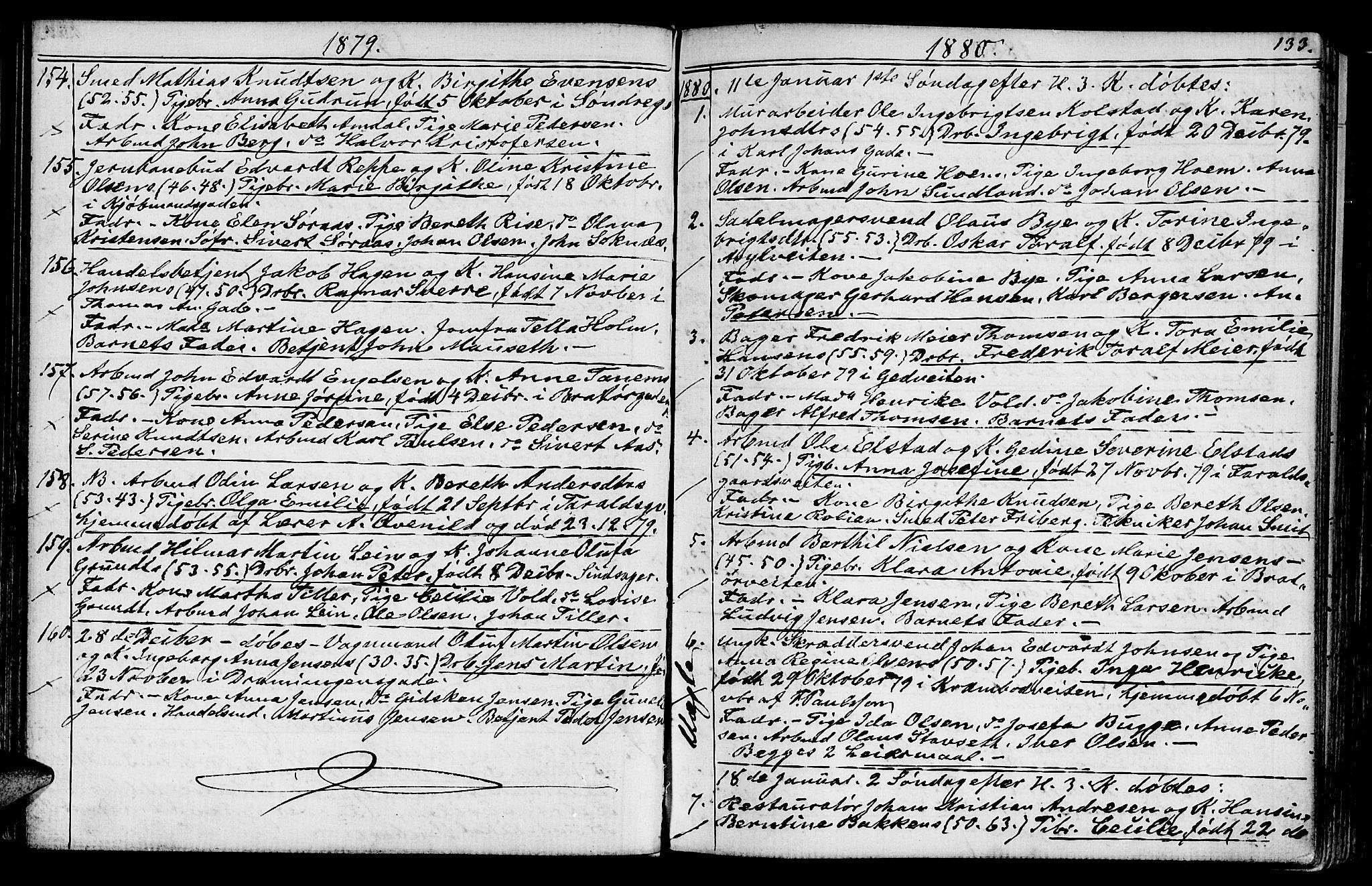 SAT, Ministerialprotokoller, klokkerbøker og fødselsregistre - Sør-Trøndelag, 602/L0142: Klokkerbok nr. 602C10, 1872-1894, s. 133