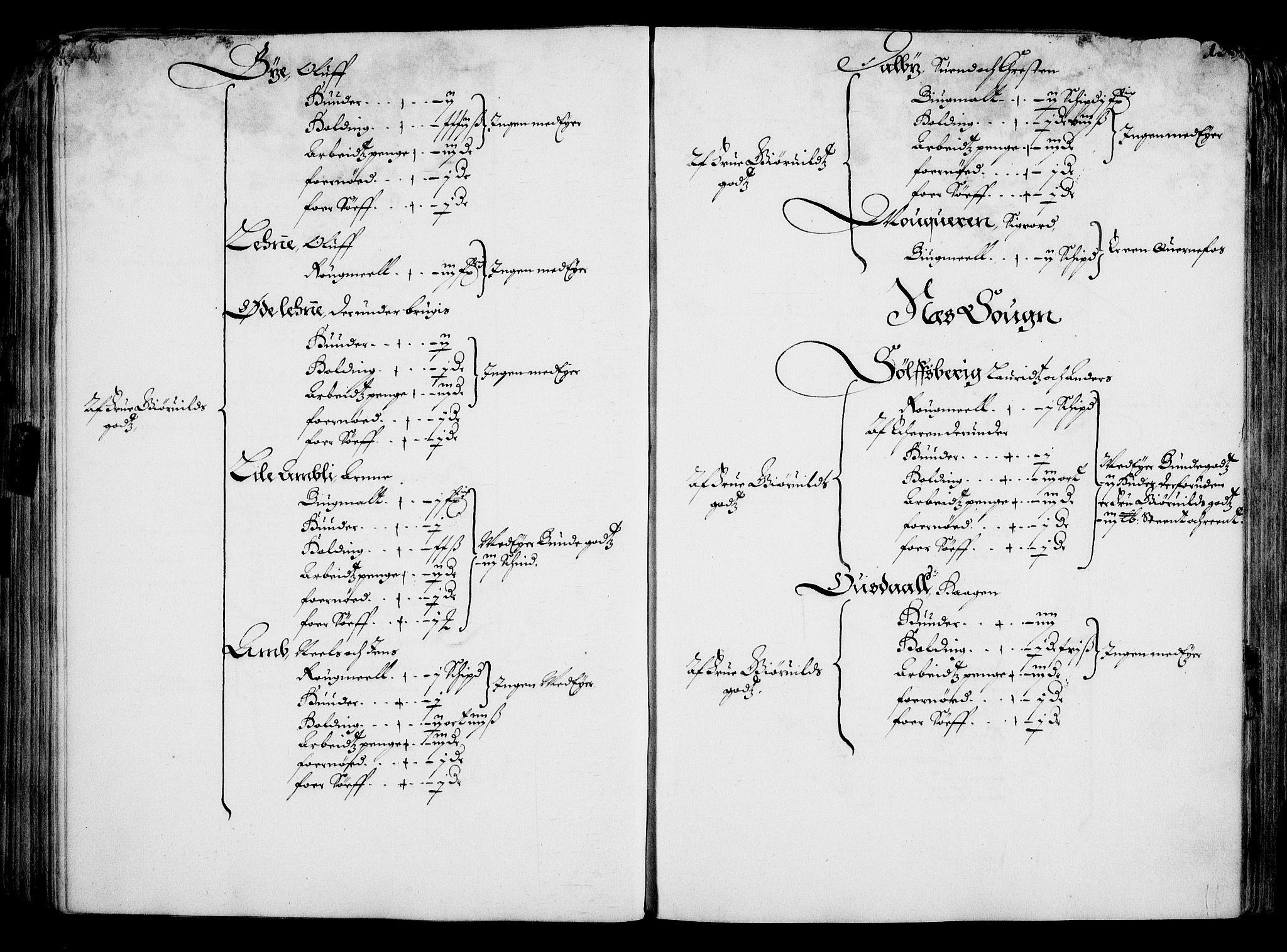 RA, Rentekammeret inntil 1814, Realistisk ordnet avdeling, On/L0001: Statens gods, 1651, s. 124