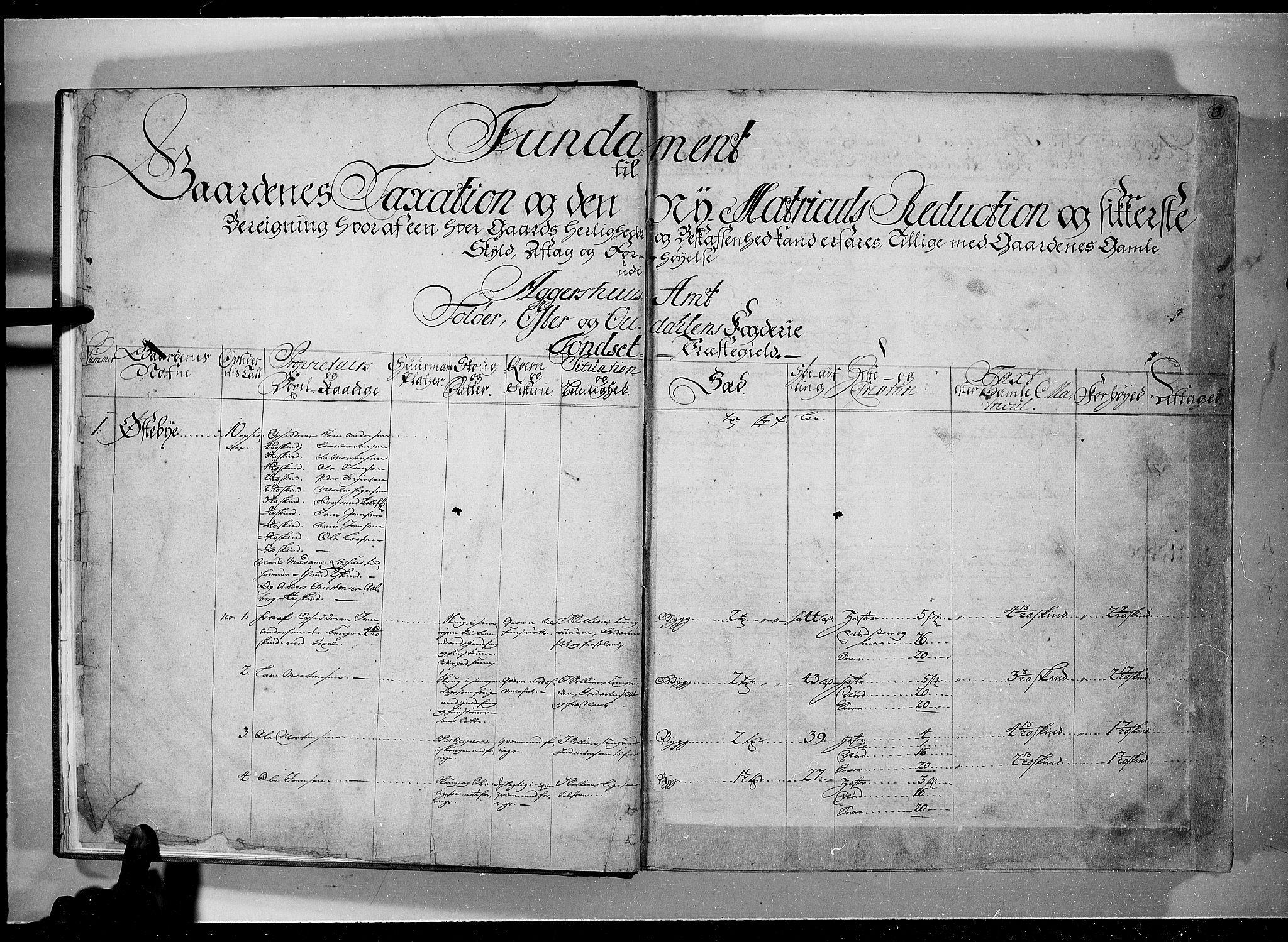 RA, Rentekammeret inntil 1814, Realistisk ordnet avdeling, N/Nb/Nbf/L0101: Solør, Østerdalen og Odal eksaminasjonsprotokoll, 1723, s. 2b-3a