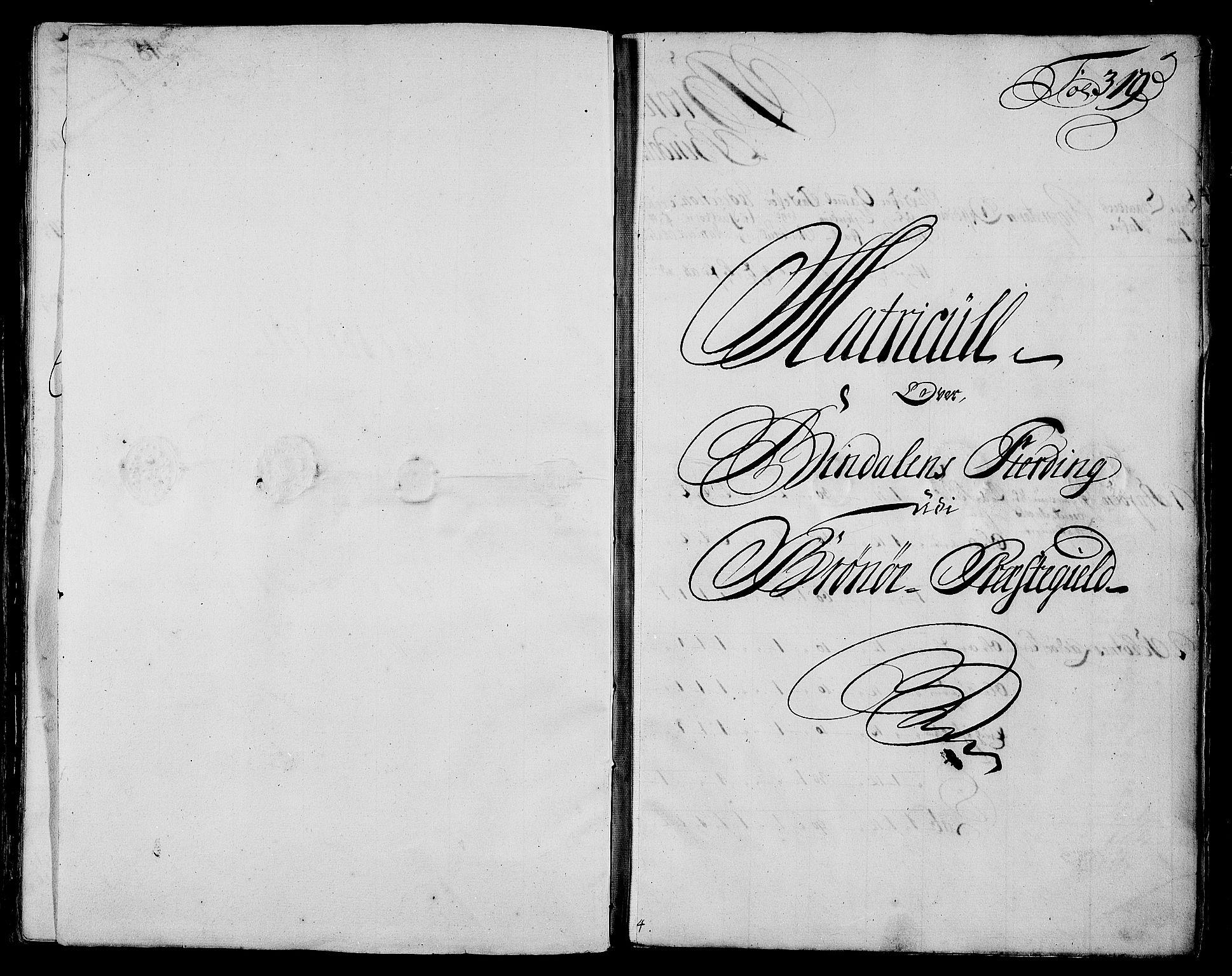 RA, Rentekammeret inntil 1814, Realistisk ordnet avdeling, N/Nb/Nbf/L0171: Helgeland matrikkelprotokoll, 1723, s. 318b-319a