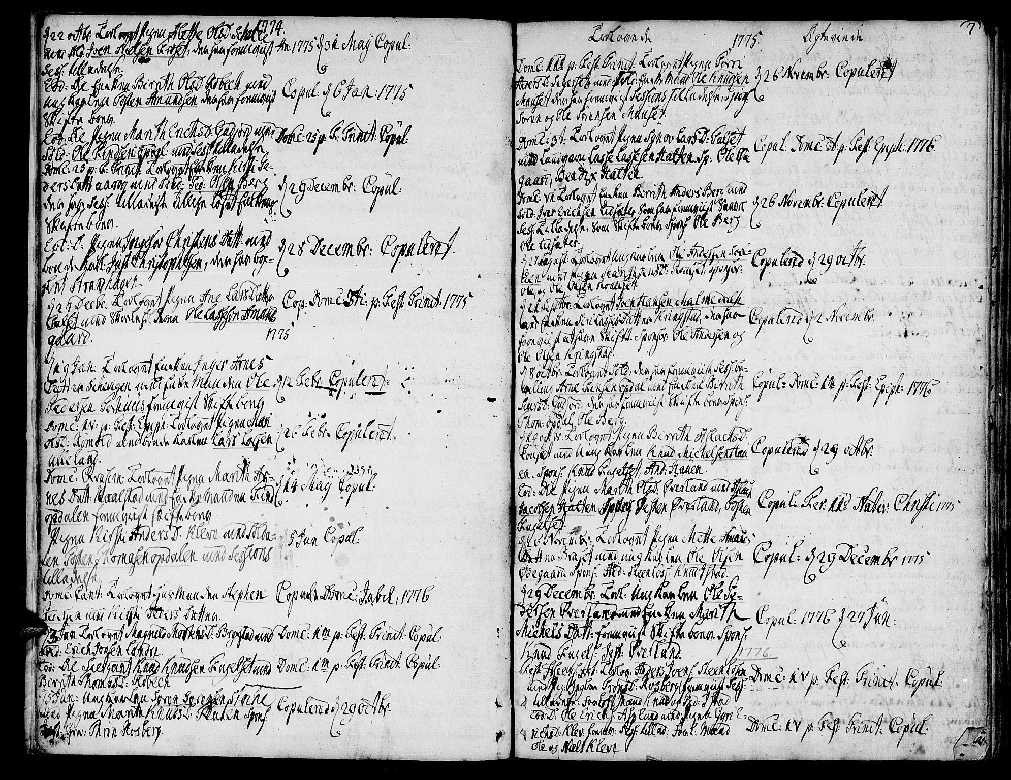 SAT, Ministerialprotokoller, klokkerbøker og fødselsregistre - Møre og Romsdal, 555/L0648: Ministerialbok nr. 555A01, 1759-1793, s. 7