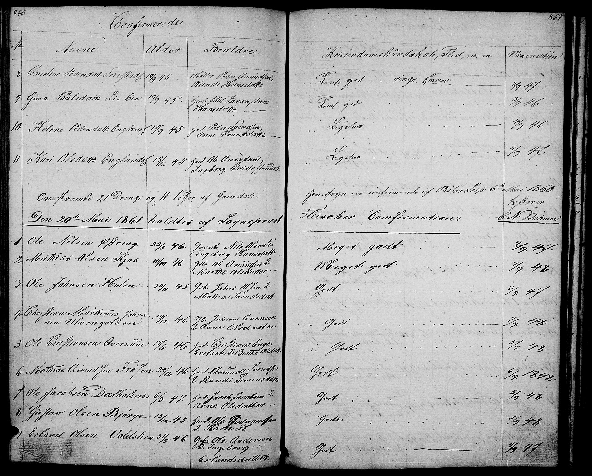 SAH, Gausdal prestekontor, Klokkerbok nr. 4, 1835-1870, s. 866-867