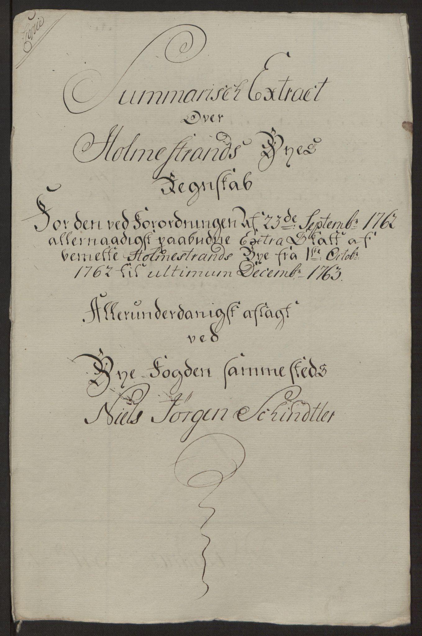 RA, Rentekammeret inntil 1814, Reviderte regnskaper, Byregnskaper, R/Rh/L0163: [H4] Kontribusjonsregnskap, 1762-1772, s. 35