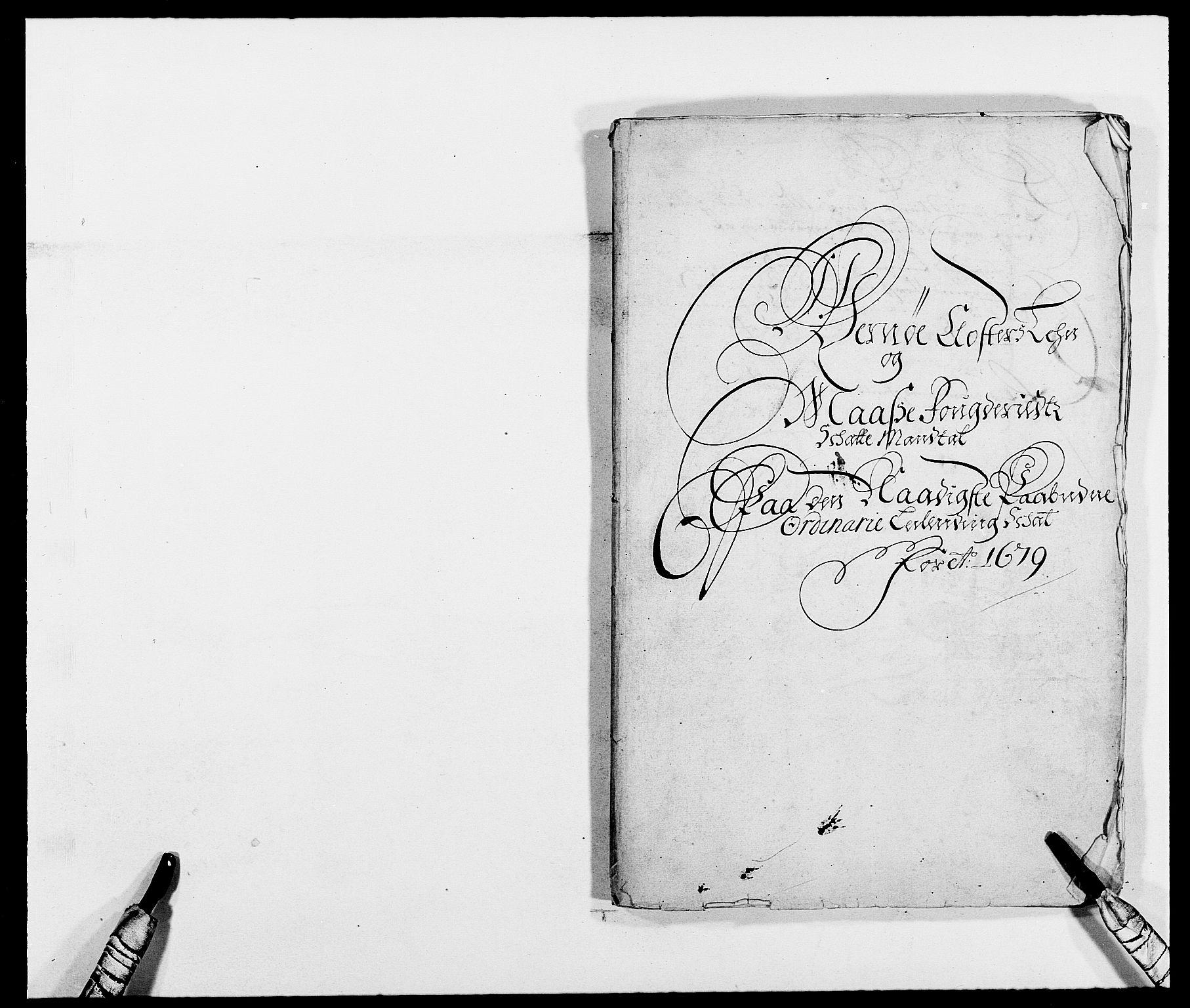 RA, Rentekammeret inntil 1814, Reviderte regnskaper, Fogderegnskap, R02/L0100: Fogderegnskap Moss og Verne kloster, 1679, s. 7