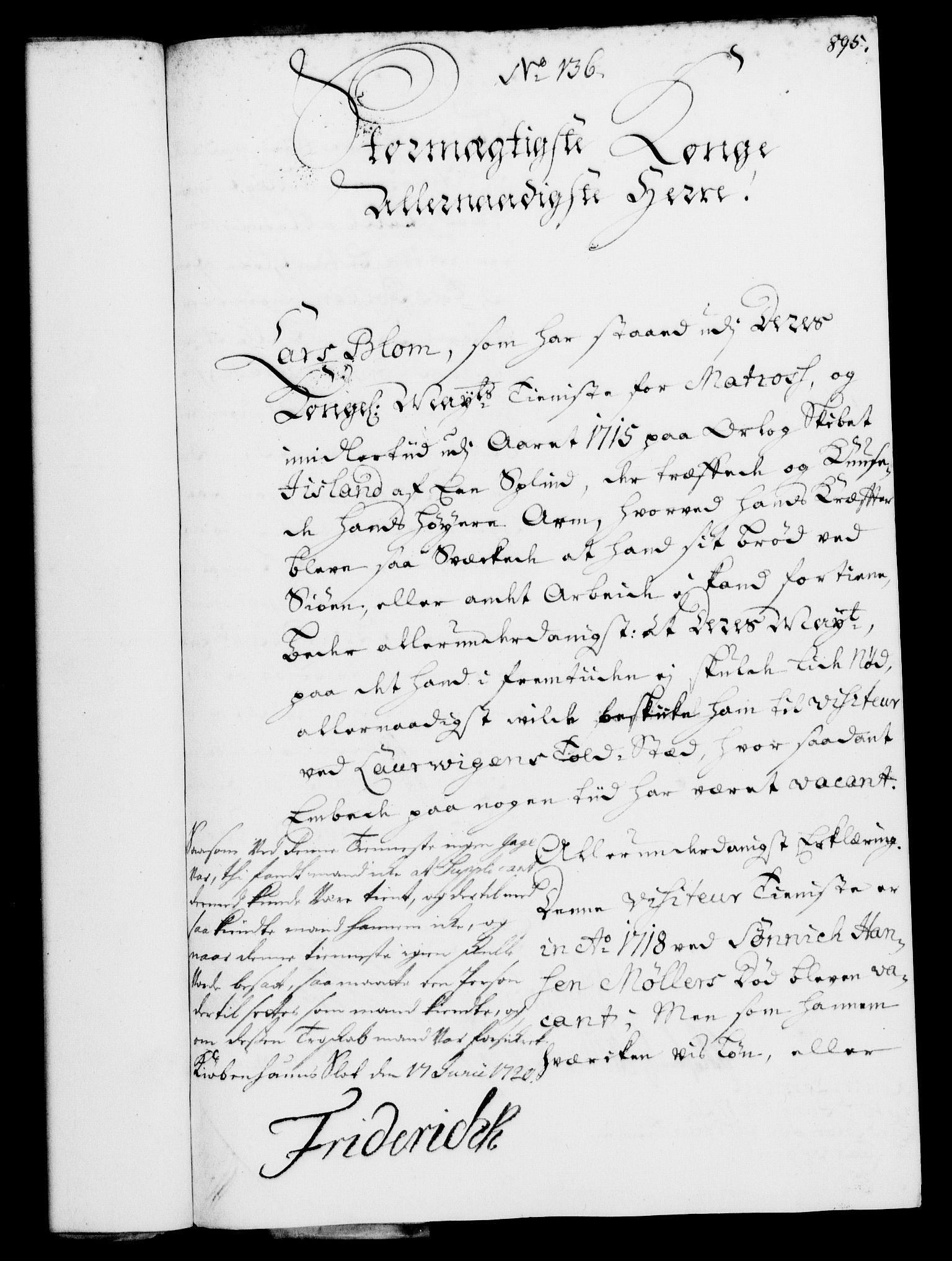 RA, Rentekammeret, Kammerkanselliet, G/Gf/Gfa/L0002: Norsk relasjons- og resolusjonsprotokoll (merket RK 52.2), 1720, s. 864