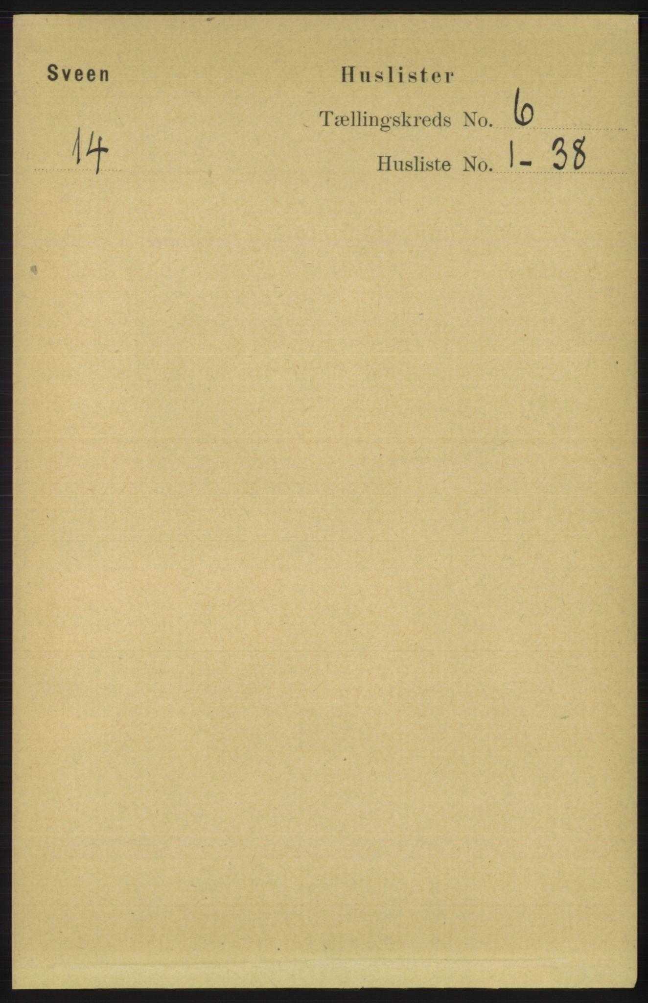 RA, Folketelling 1891 for 1216 Sveio herred, 1891, s. 1674