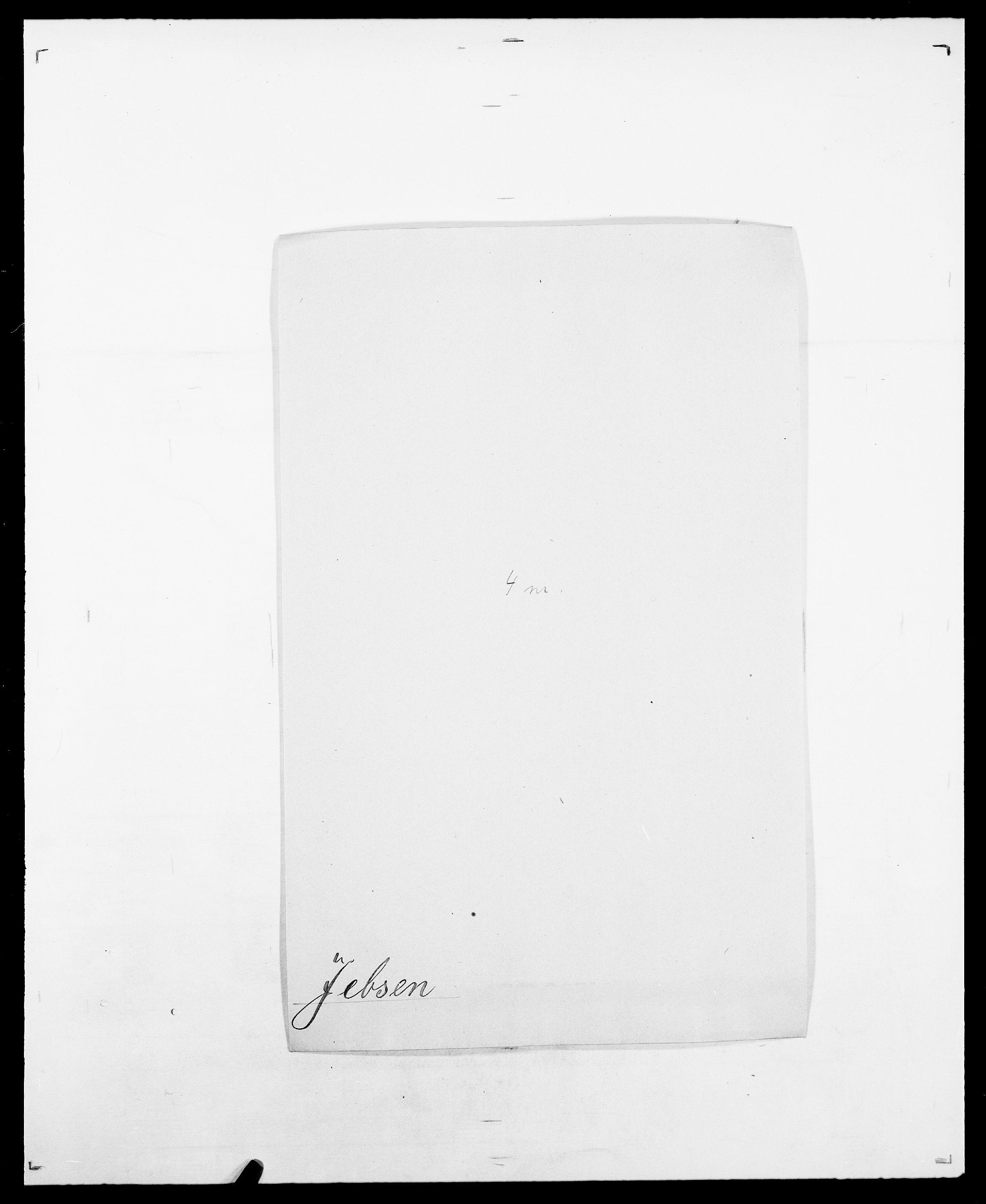 SAO, Delgobe, Charles Antoine - samling, D/Da/L0019: van der Hude - Joys, s. 616
