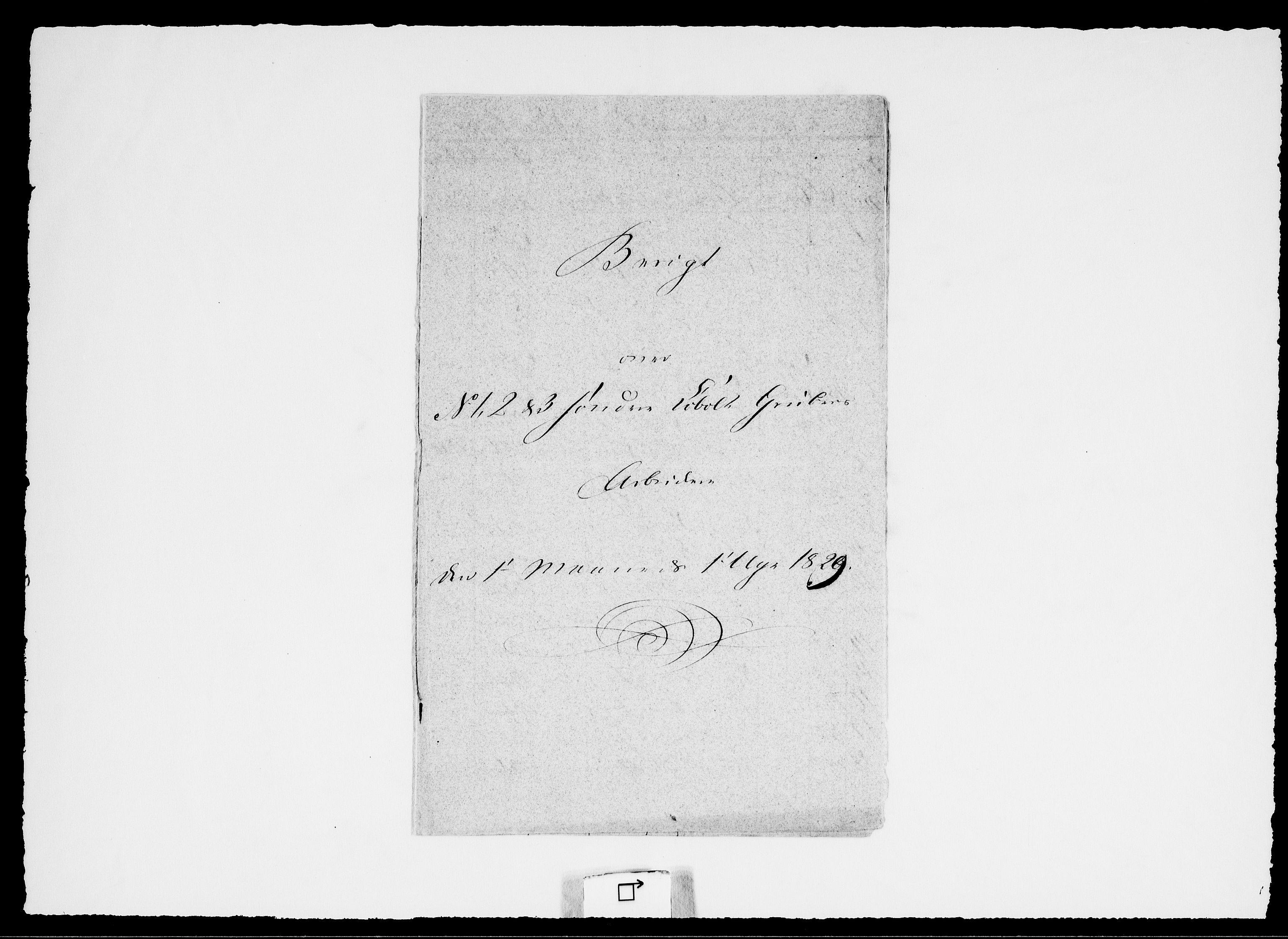 RA, Modums Blaafarveværk, G/Ge/L0332, 1829, s. 2