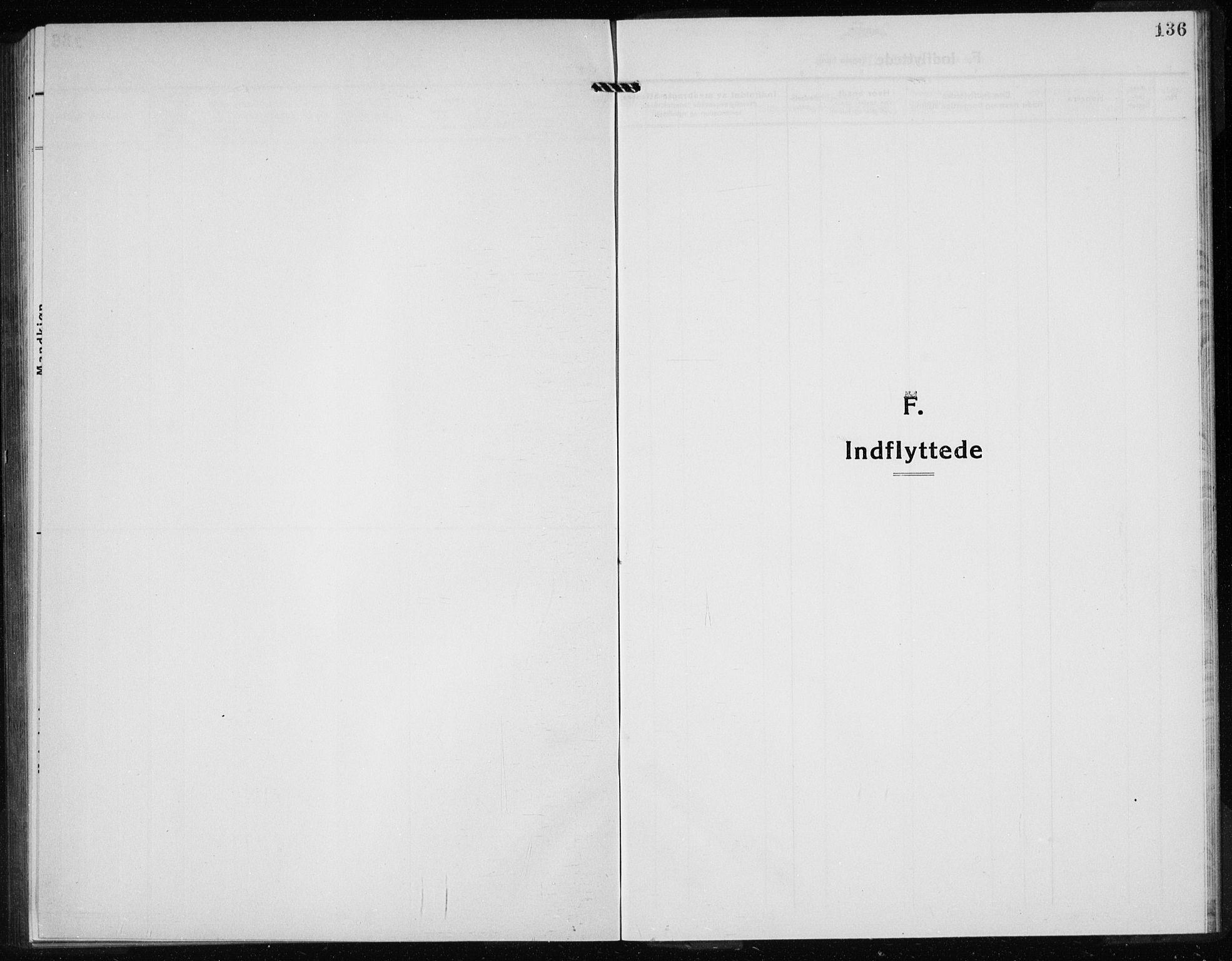 SAB, Kvinnherad Sokneprestembete, H/Haa: Ministerialbok nr. G  1, 1920-1927, s. 136