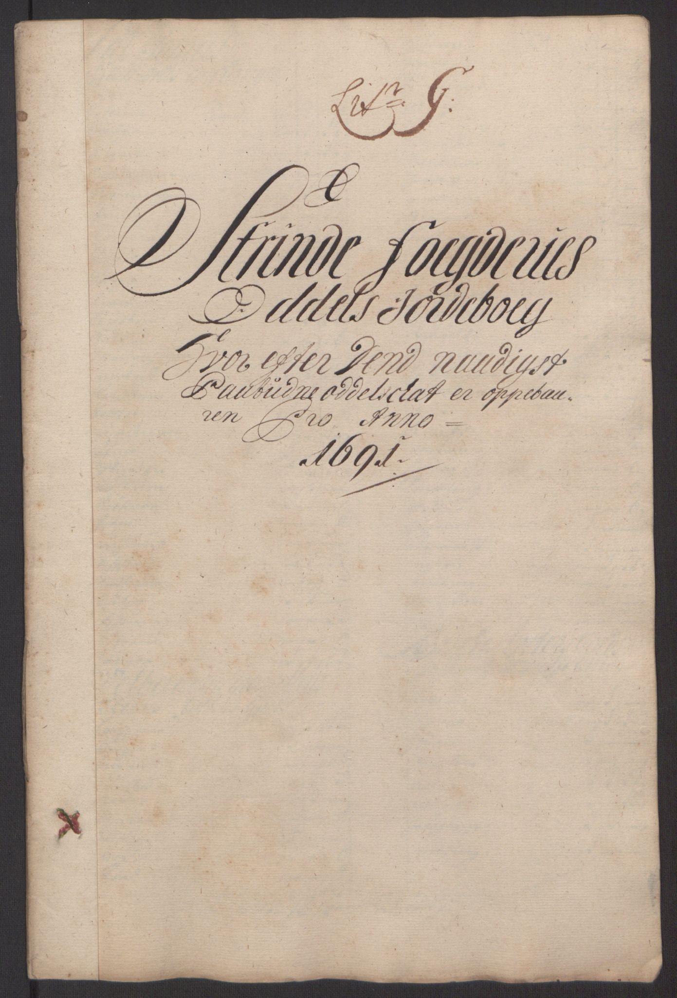 RA, Rentekammeret inntil 1814, Reviderte regnskaper, Fogderegnskap, R61/L4103: Fogderegnskap Strinda og Selbu, 1691-1692, s. 73